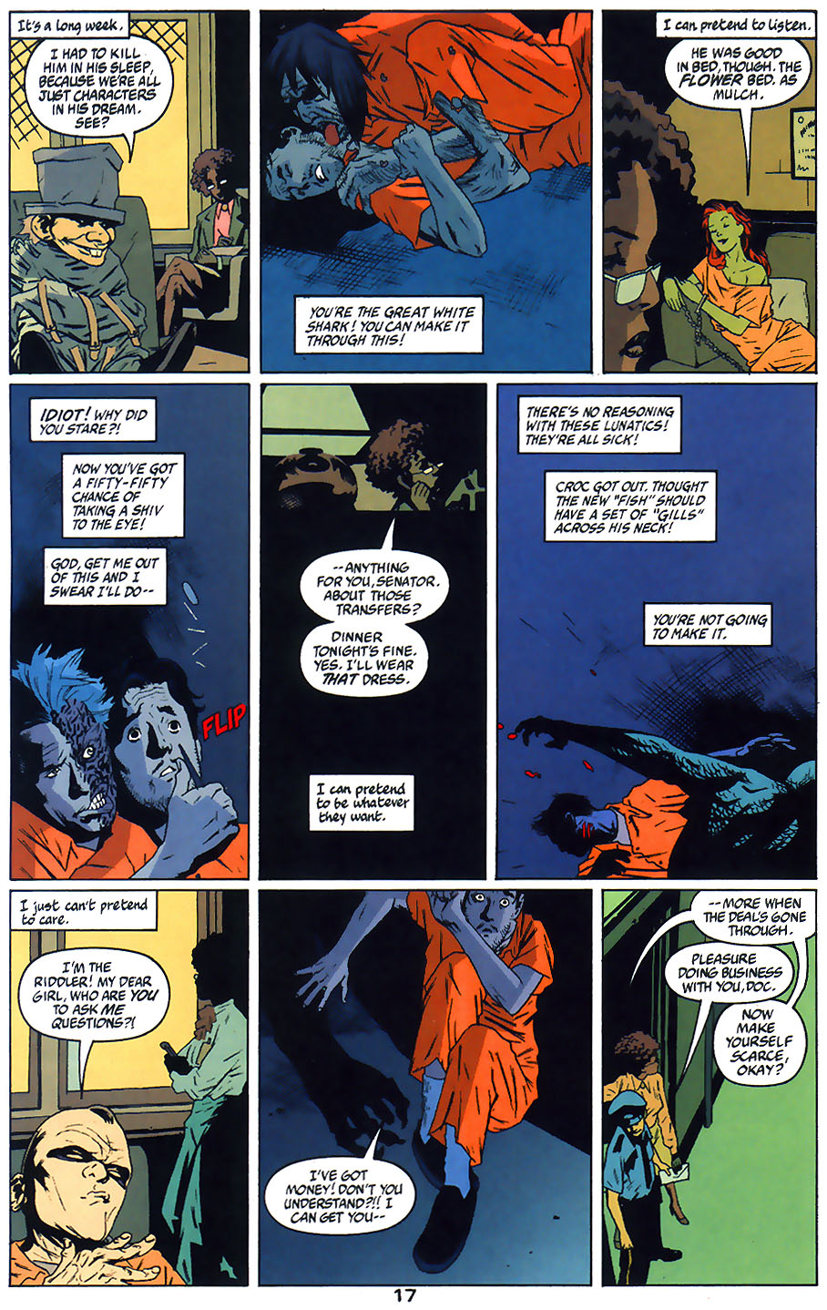 Read online Arkham Asylum: Living Hell comic -  Issue #1 - 19