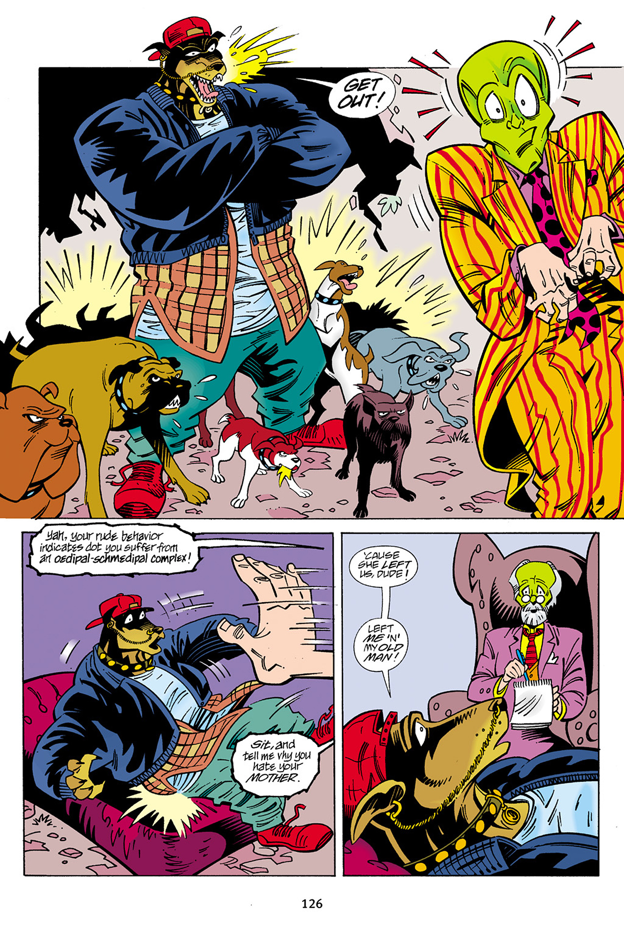 Read online Adventures Of The Mask Omnibus comic -  Issue #Adventures Of The Mask Omnibus Full - 126