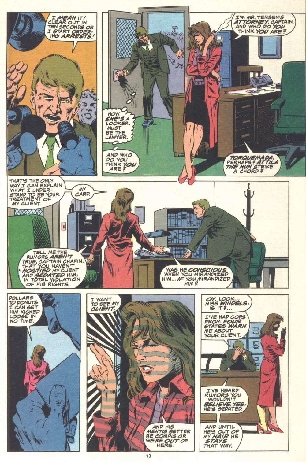Read online Justice (1986) comic -  Issue #21 - 15