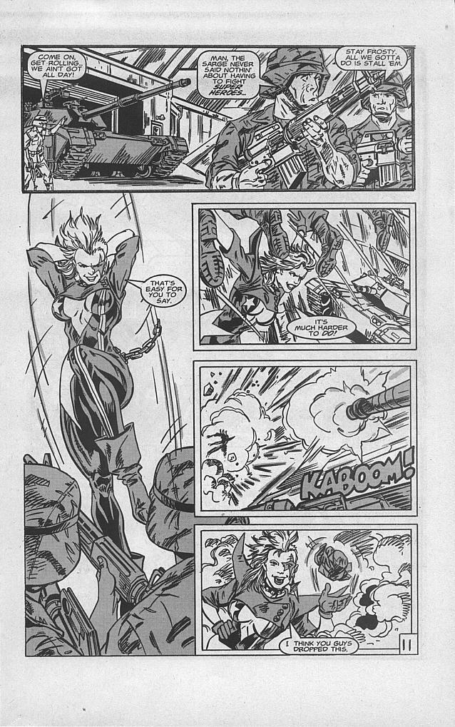 Femforce Issue #94 #94 - English 13