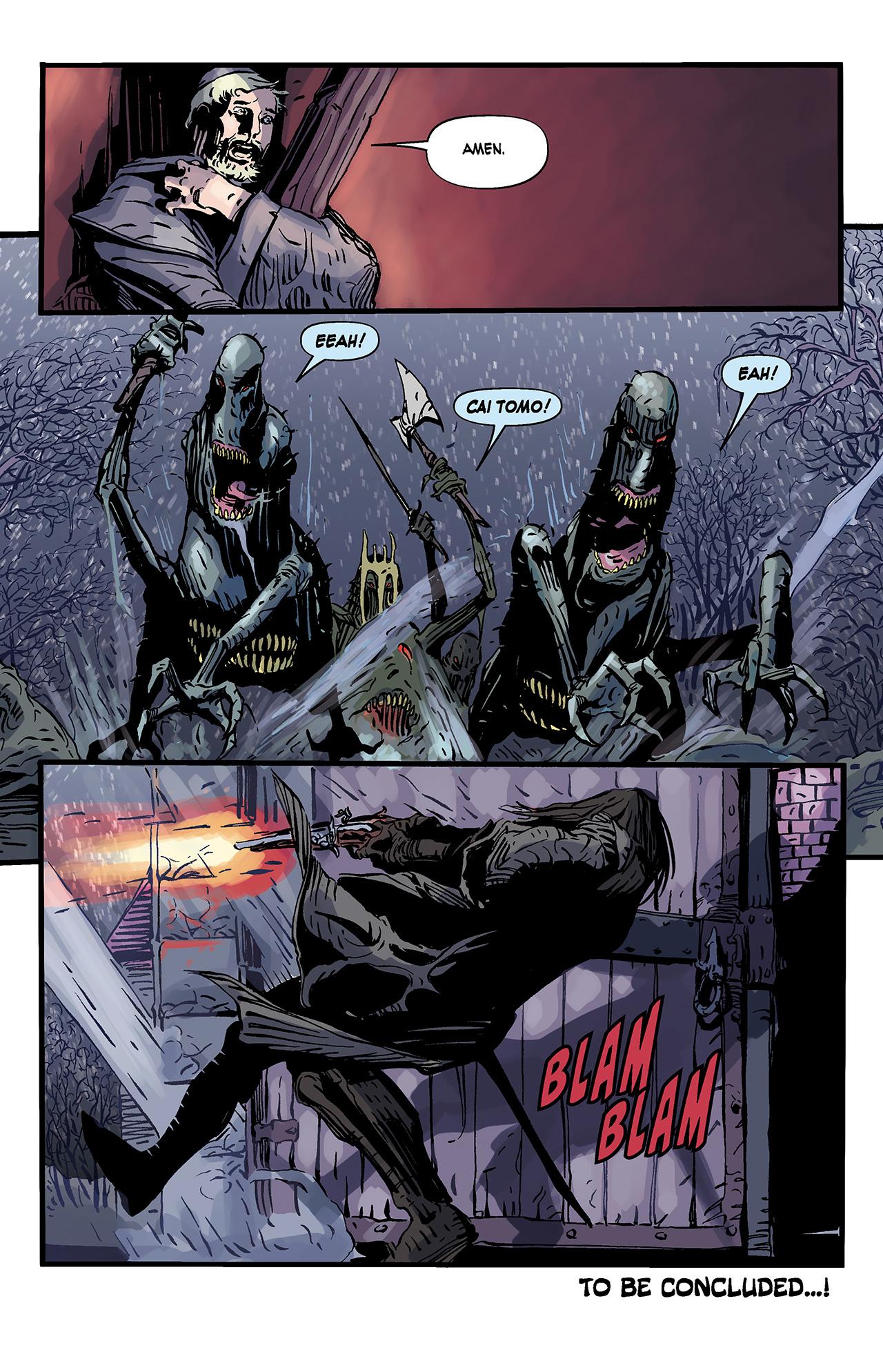 Read online Solomon Kane: Death's Black Riders comic -  Issue #3 - 24