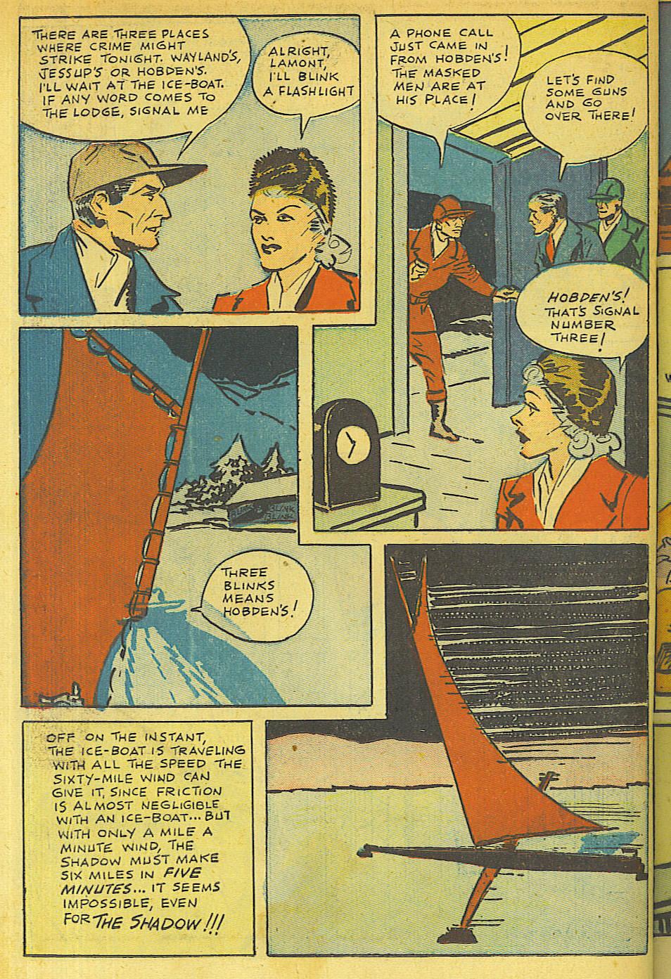 Read online Shadow Comics comic -  Issue #63 - 32