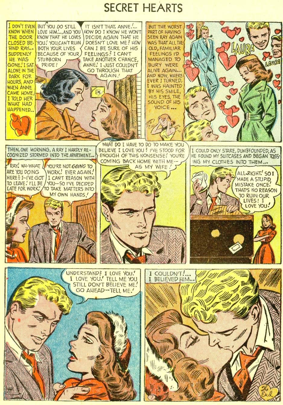Read online Secret Hearts comic -  Issue #21 - 24