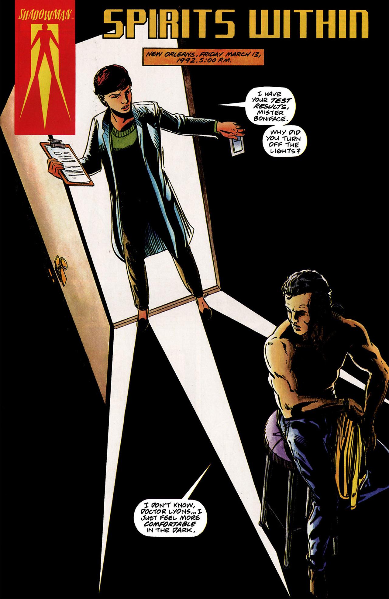 Read online Shadowman (1992) comic -  Issue #2 - 2