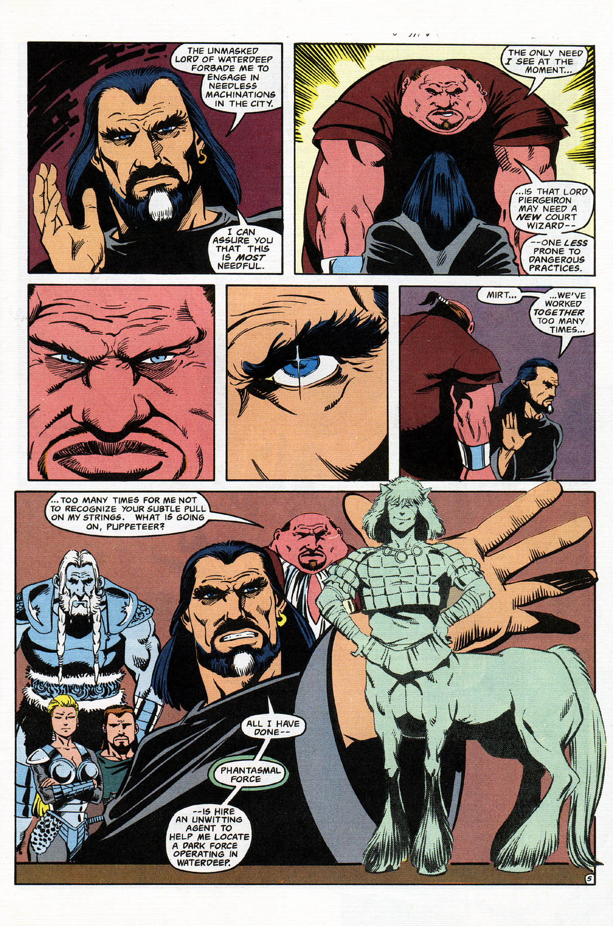 Read online Advanced Dungeons & Dragons comic -  Issue #11 - 6