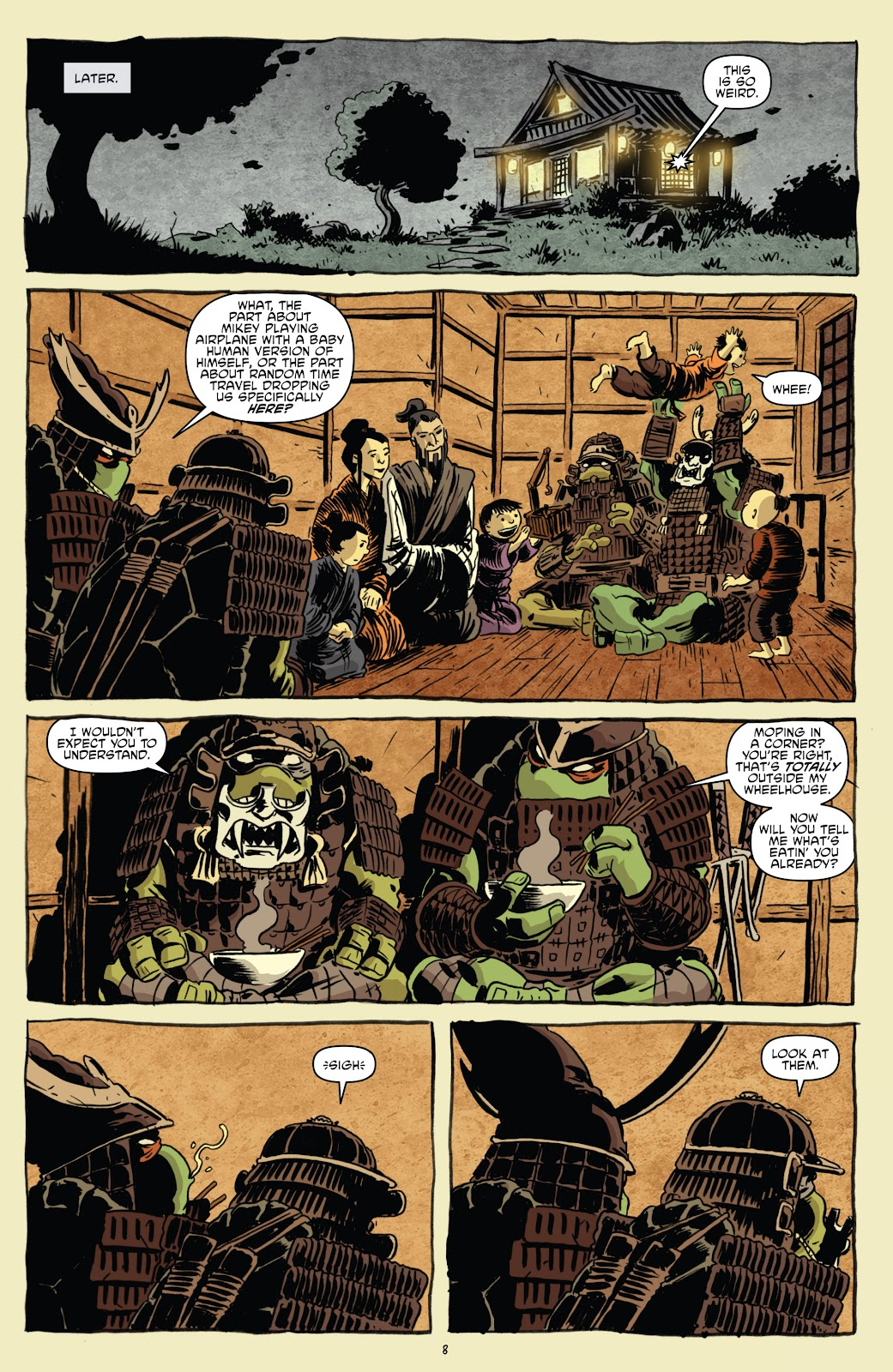 Read online Teenage Mutant Ninja Turtles: The IDW Collection comic -  Issue # TPB 5 (Part 1) - 38