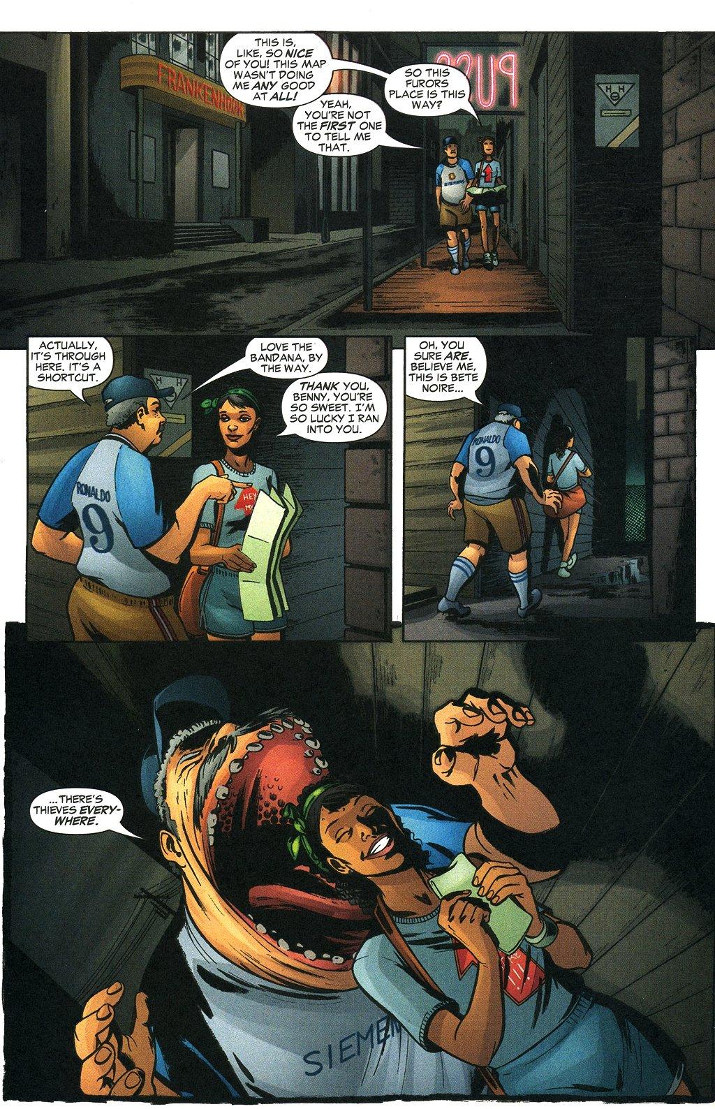 Read online Fallen Angel (2003) comic -  Issue #19 - 18