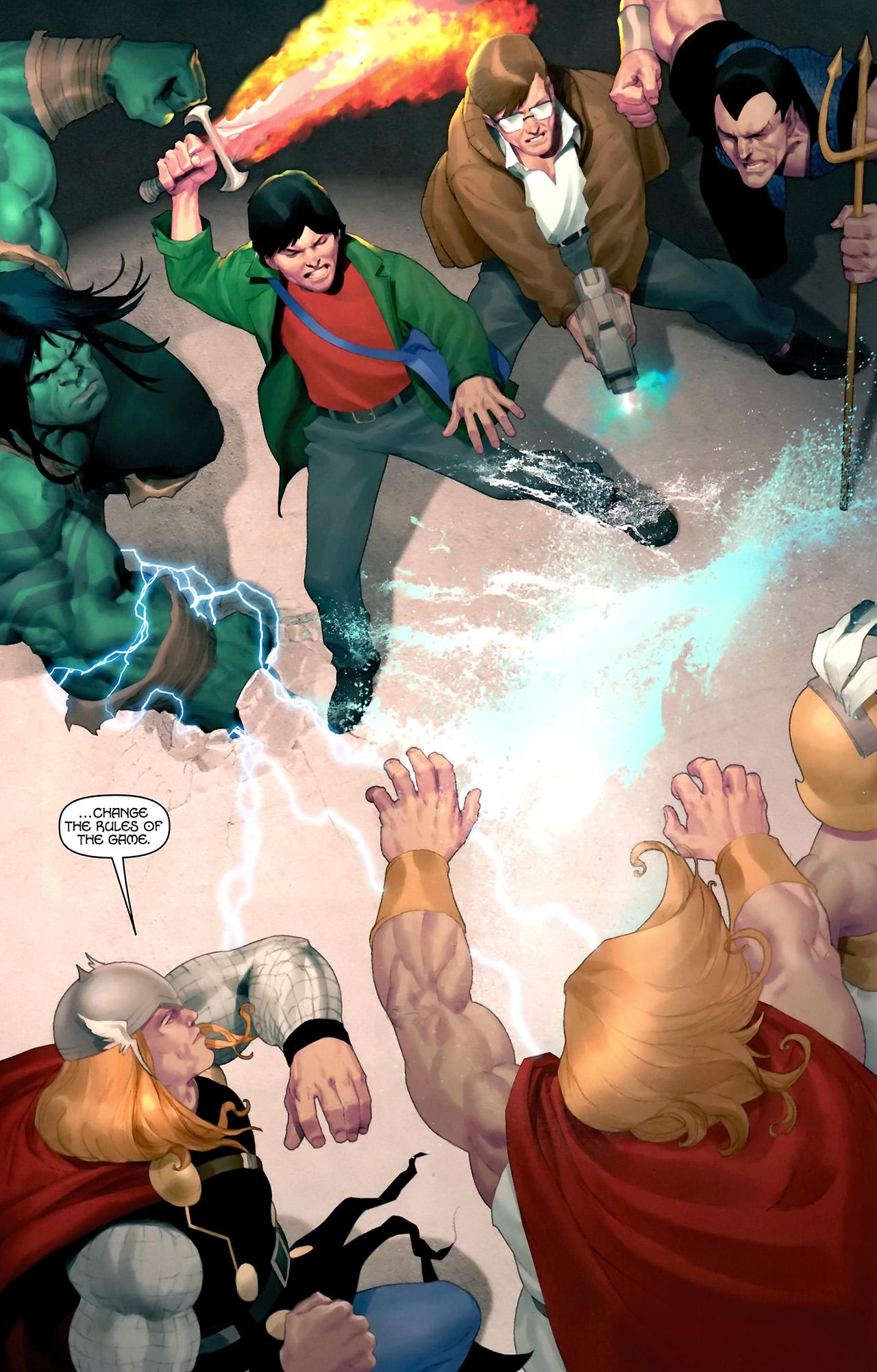 Read online Hercules: Fall of an Avenger comic -  Issue #2 - 16