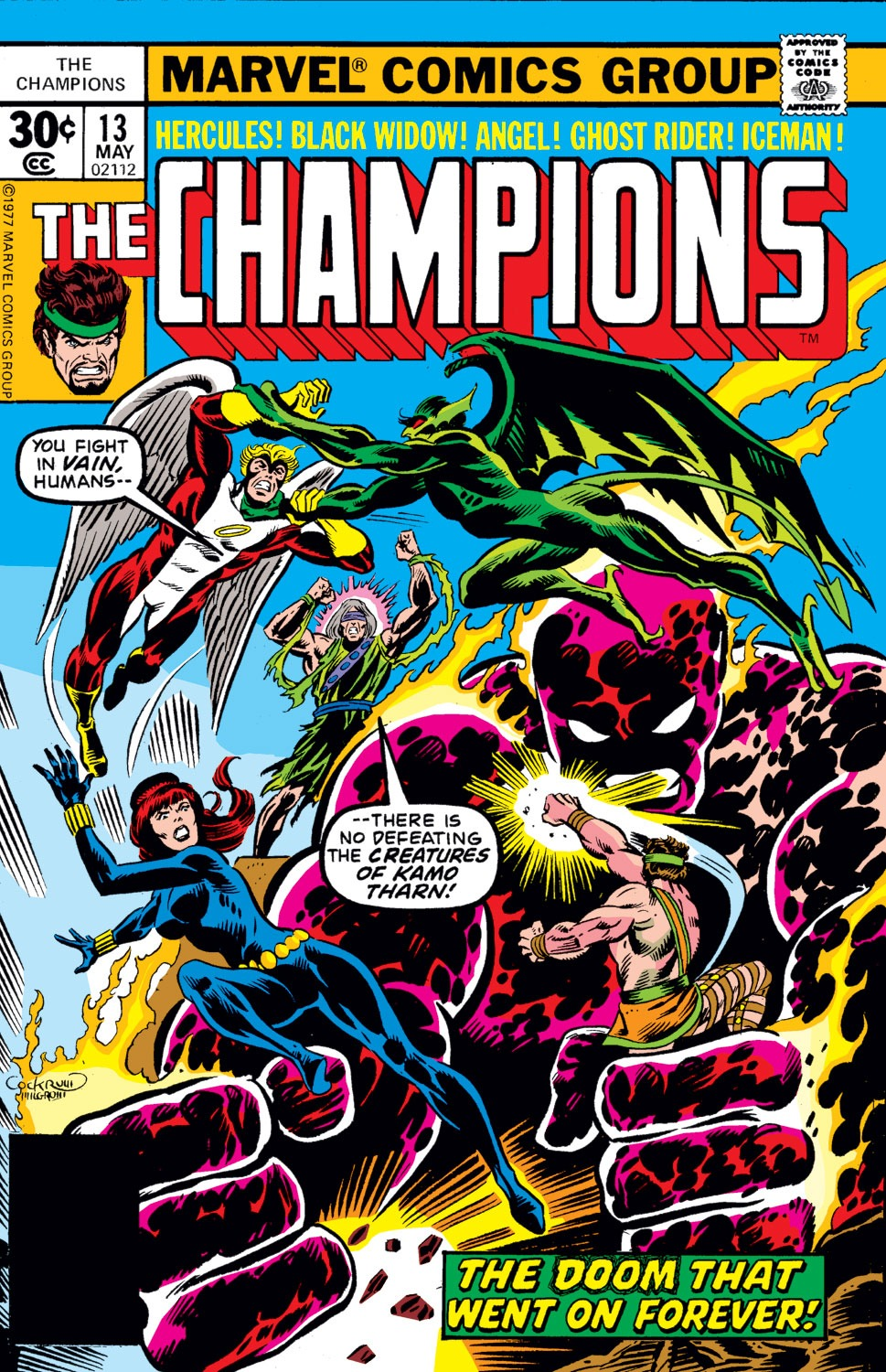 The Champions issue 13 - Page 1