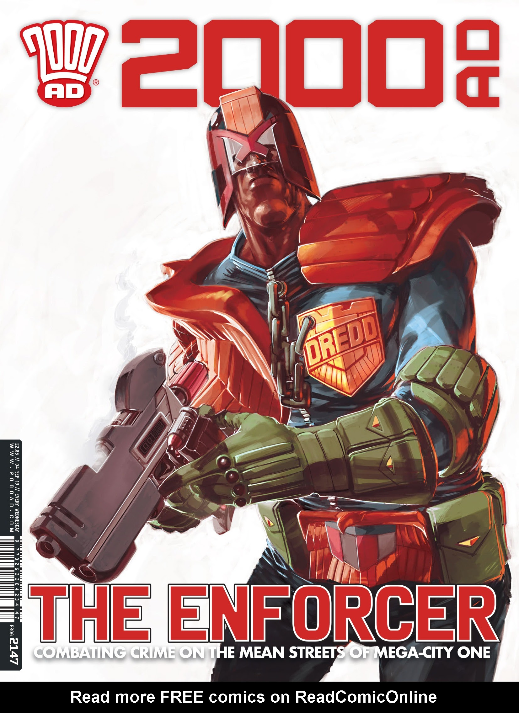 2000 AD 2147 Page 1