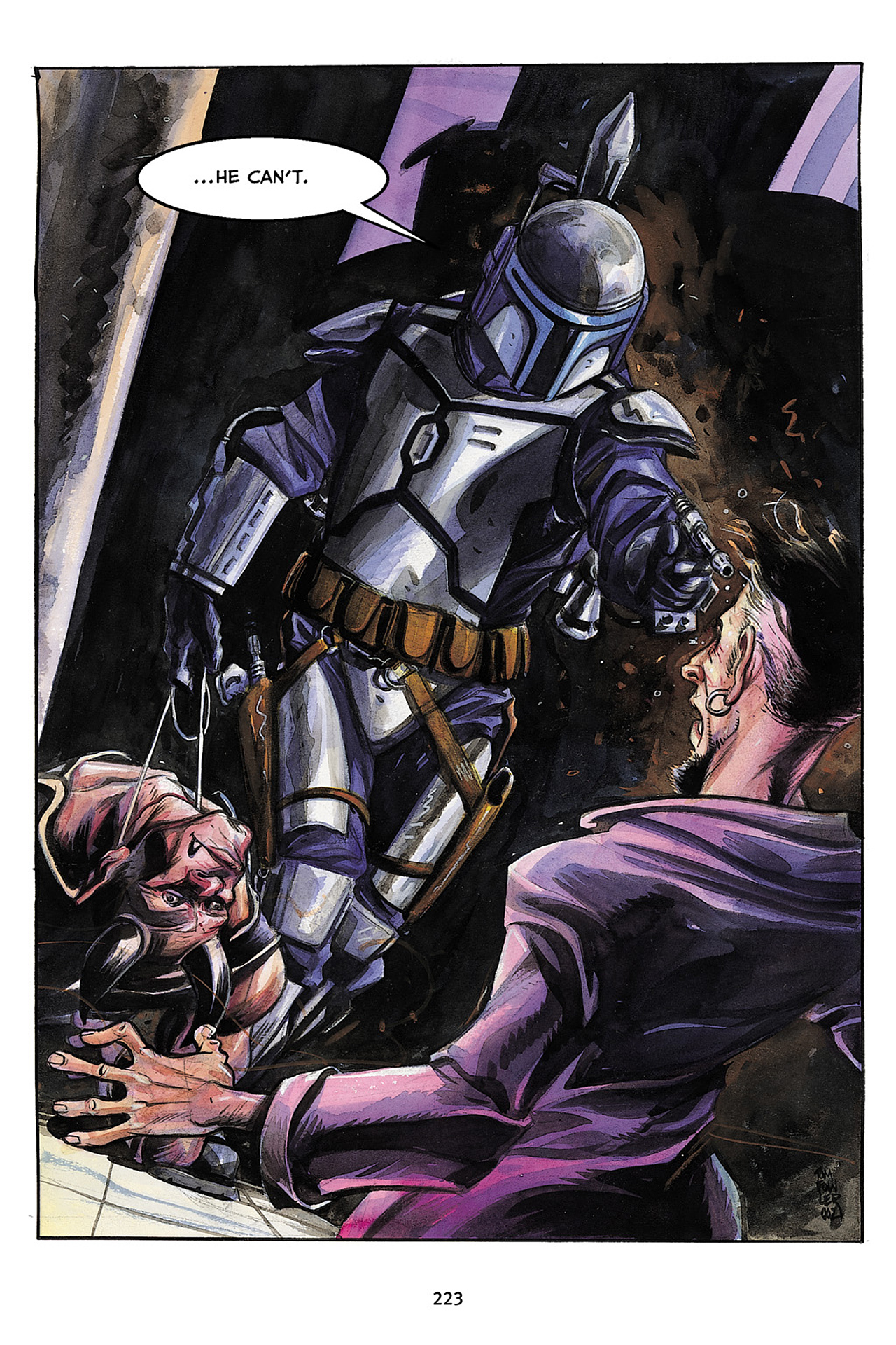Read online Star Wars Omnibus comic -  Issue # Vol. 10 - 222