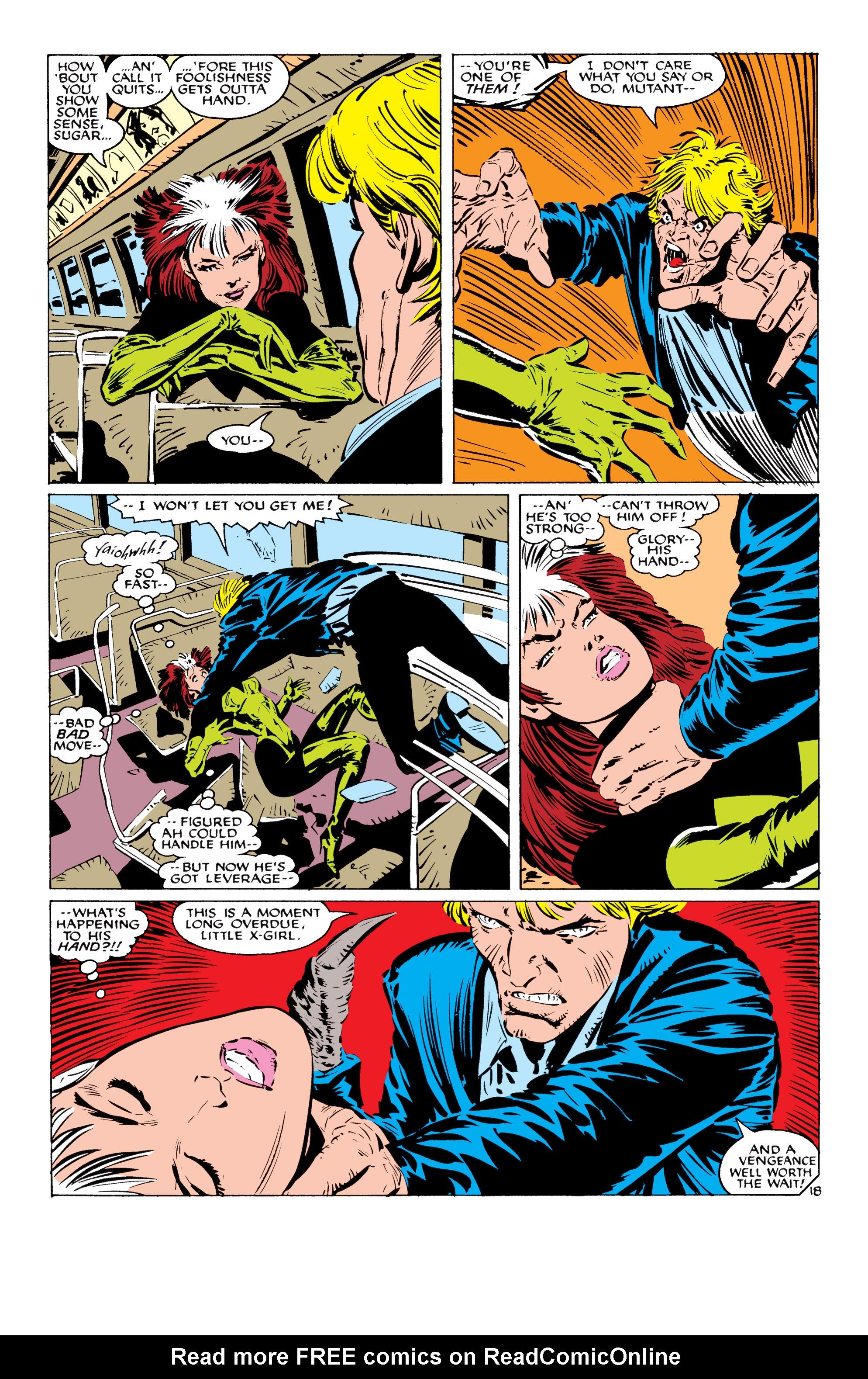 Read online Uncanny X-Men (1963) comic -  Issue #232 - 19