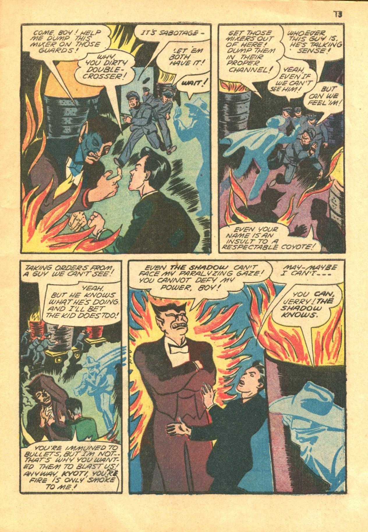 Read online Shadow Comics comic -  Issue #24 - 15