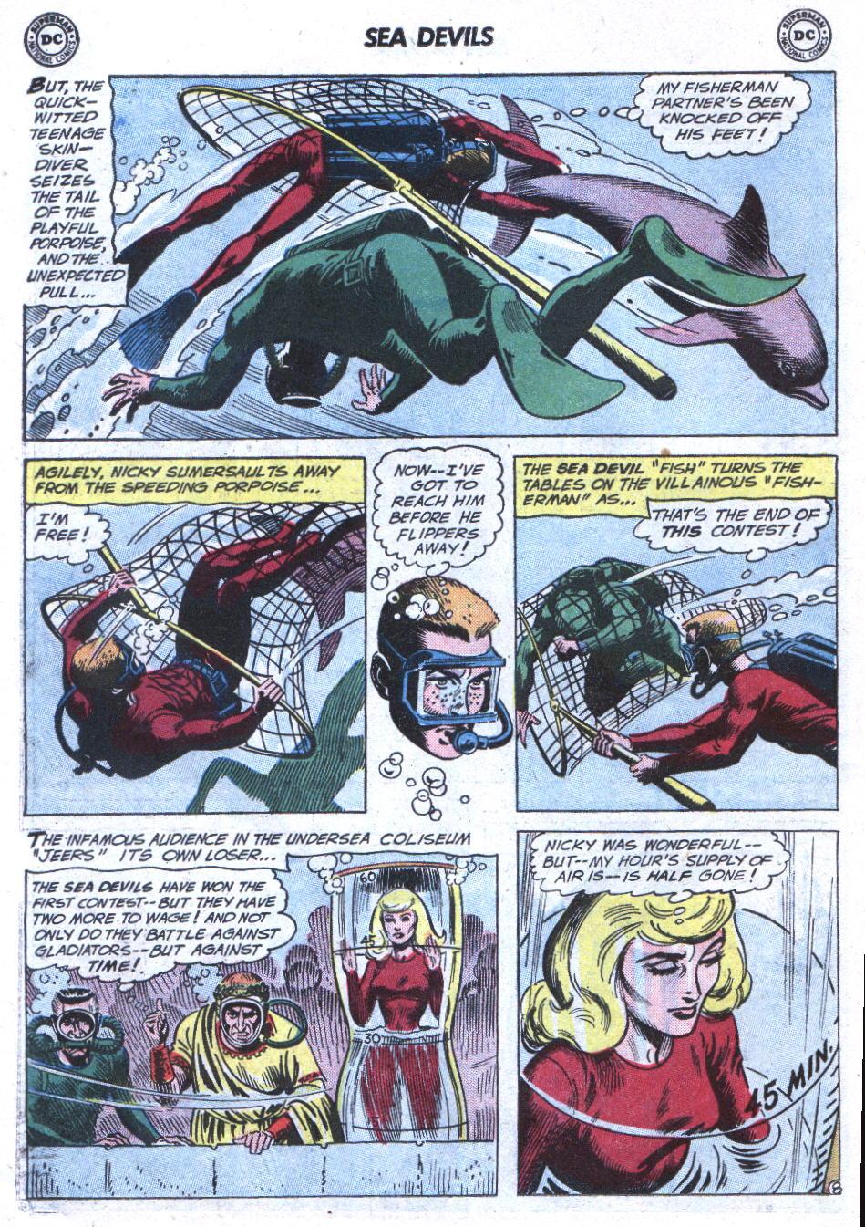 Read online Sea Devils comic -  Issue #3 - 11