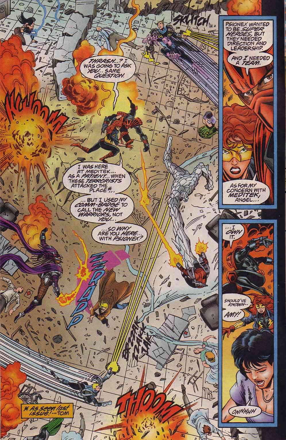 The New Warriors Issue #64 #68 - English 3