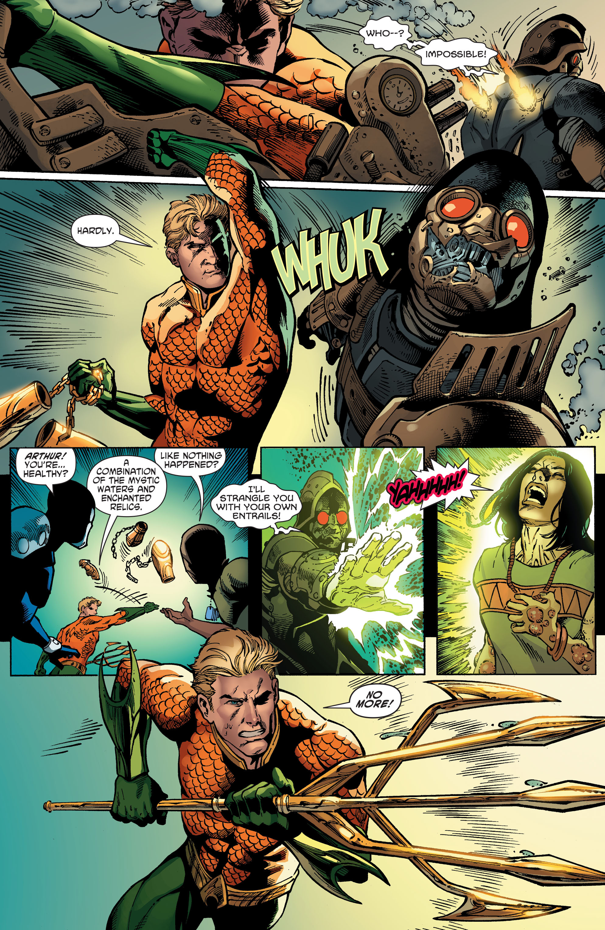 Read online Aquaman and the Others comic -  Issue #5 - 16