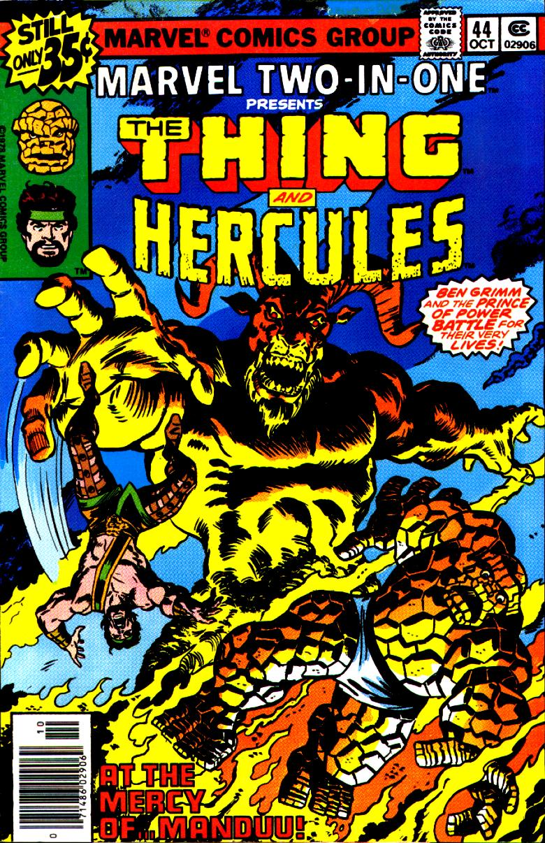 Marvel Two-In-One (1974) issue 44 - Page 1