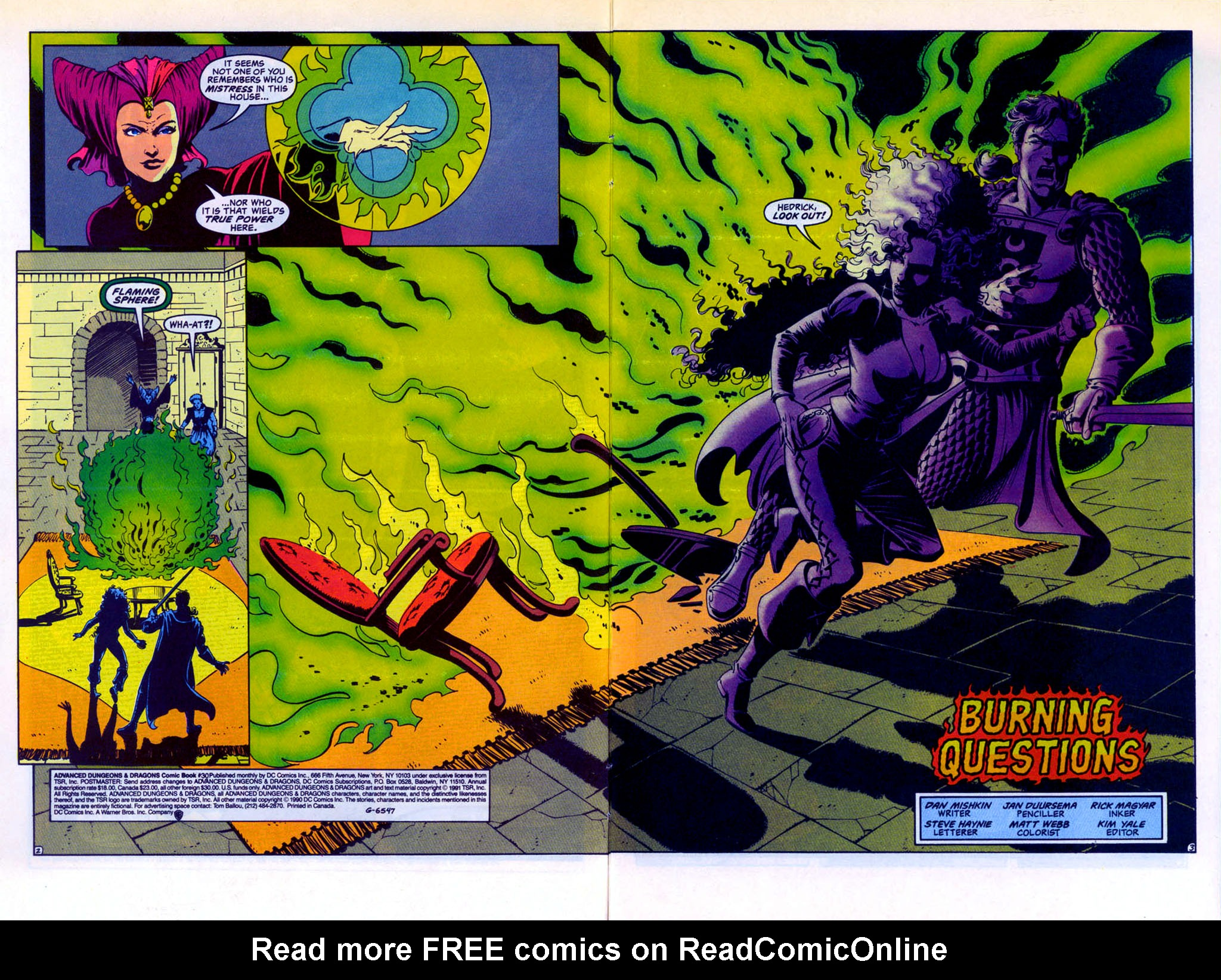 Read online Advanced Dungeons & Dragons comic -  Issue #30 - 3