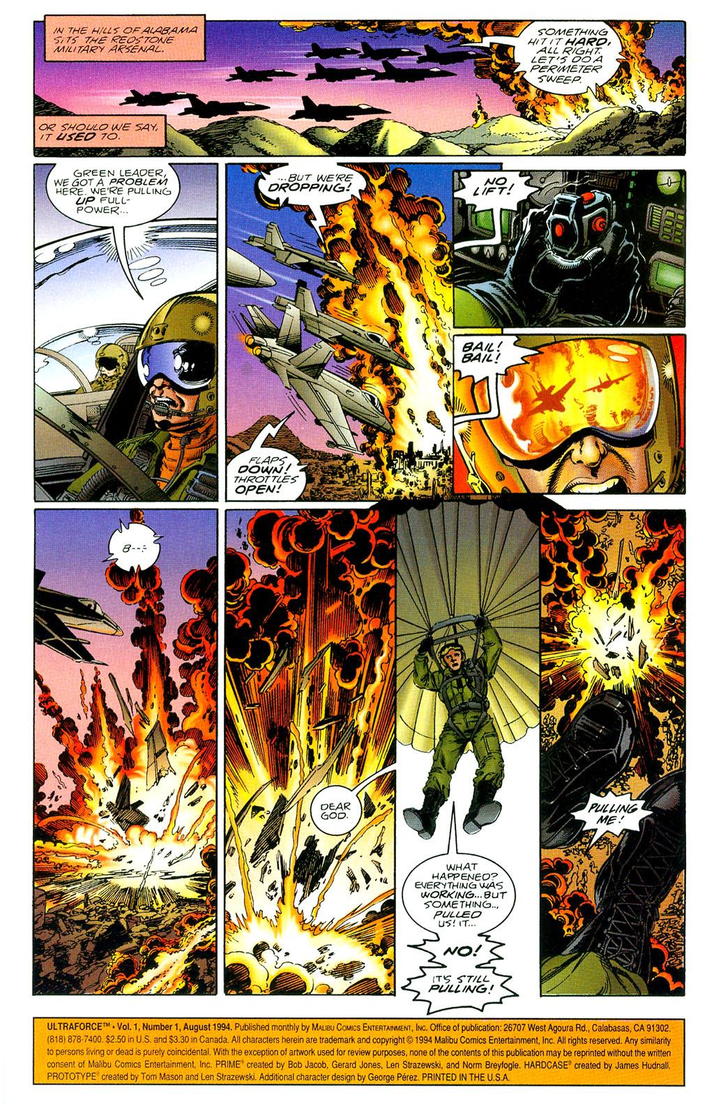 Read online UltraForce (1994) comic -  Issue #1 - 2