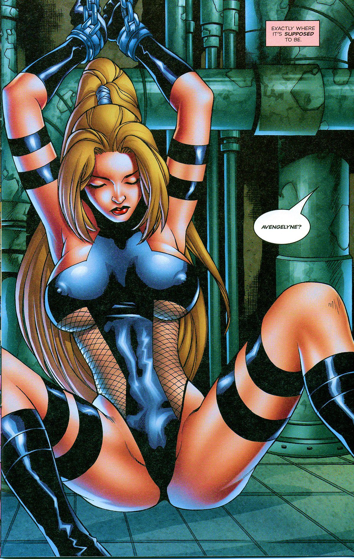 Read online Avengelyne: Bad Blood comic -  Issue #2 - 14