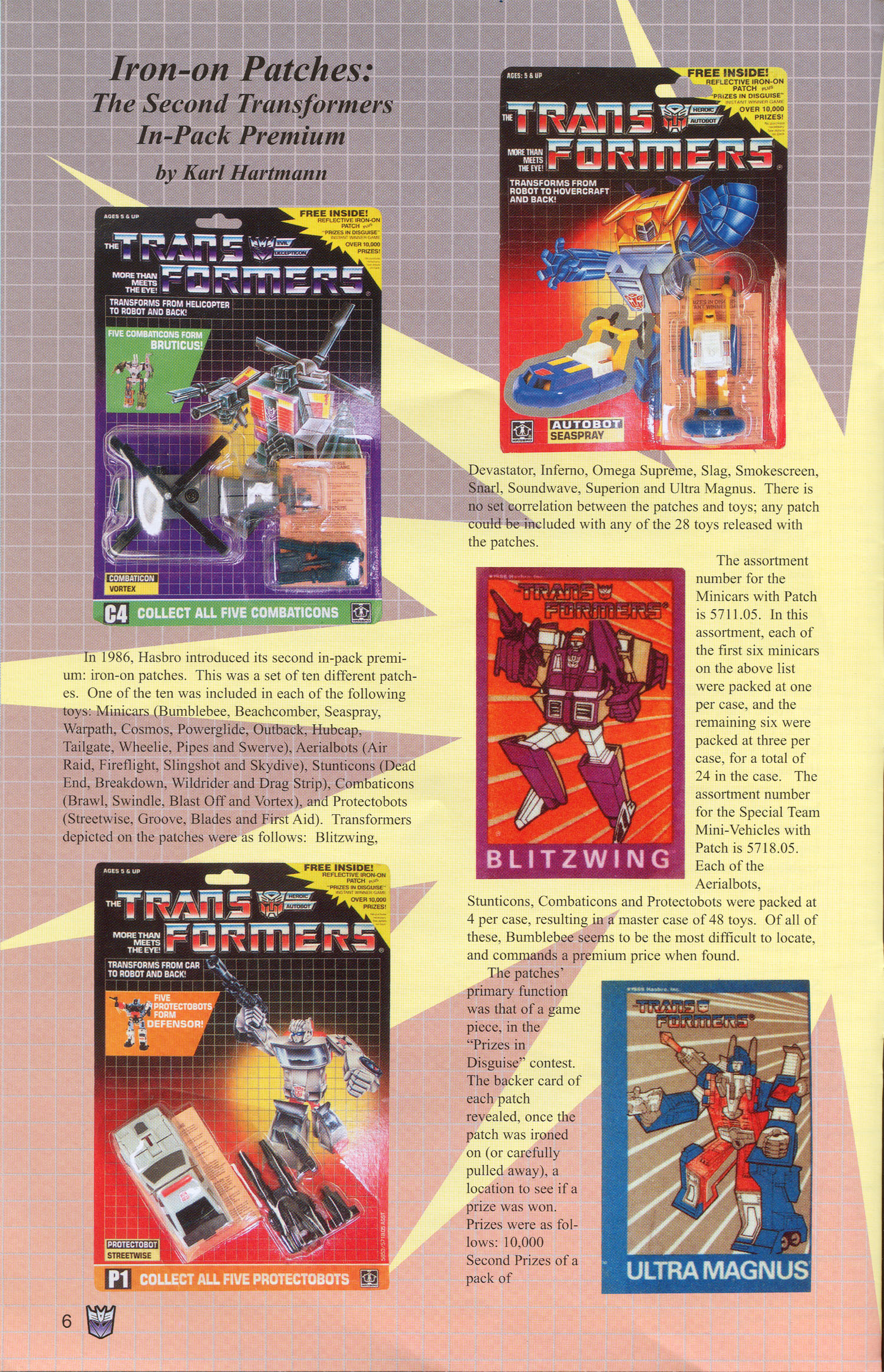 Read online Transformers: Collectors' Club comic -  Issue #3 - 6