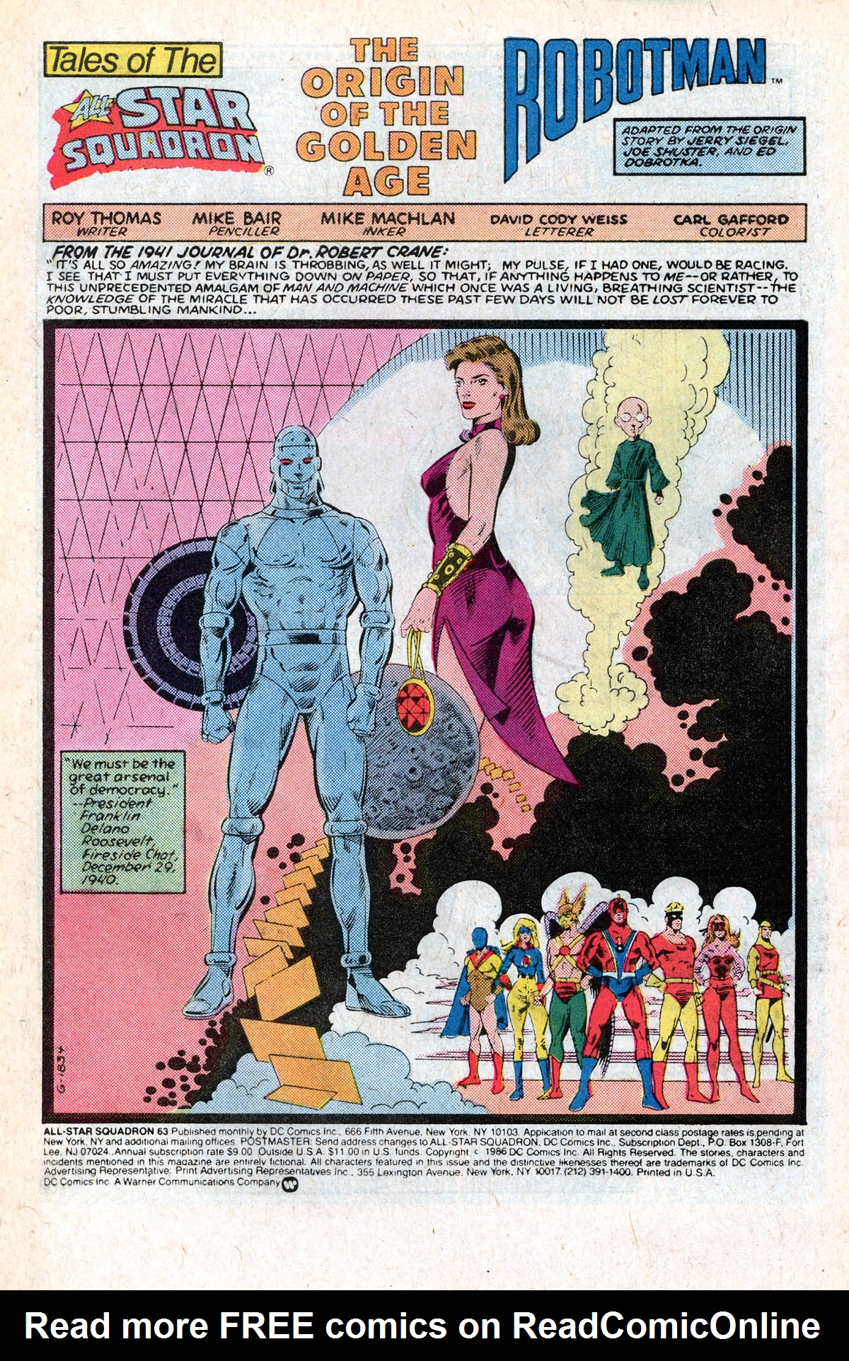 Read online All-Star Squadron comic -  Issue #63 - 3