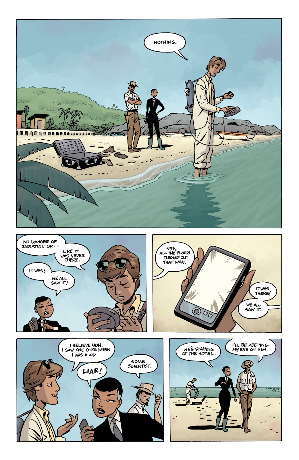 Read online The Twilight Children comic -  Issue #1 - 21