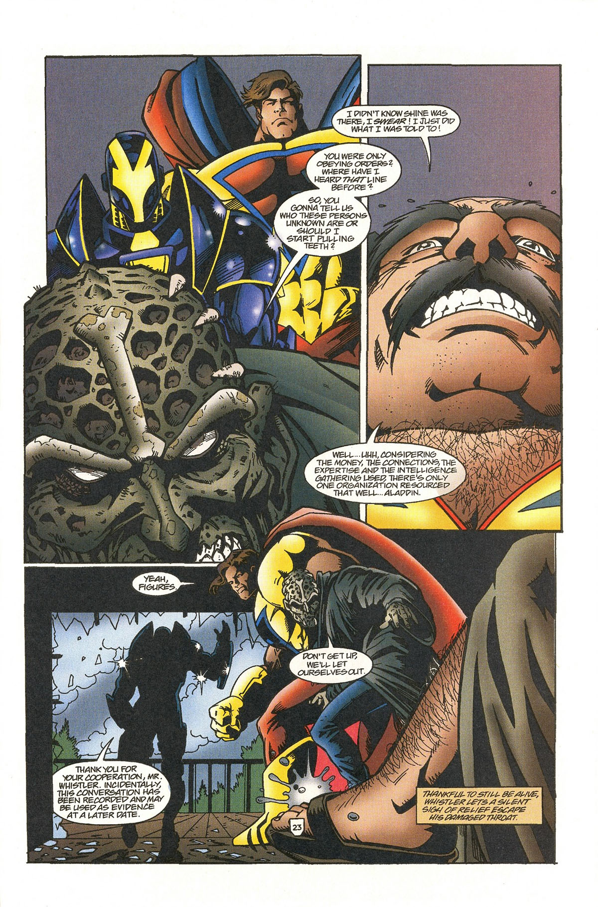 Read online UltraForce (1995) comic -  Issue #5 - 27