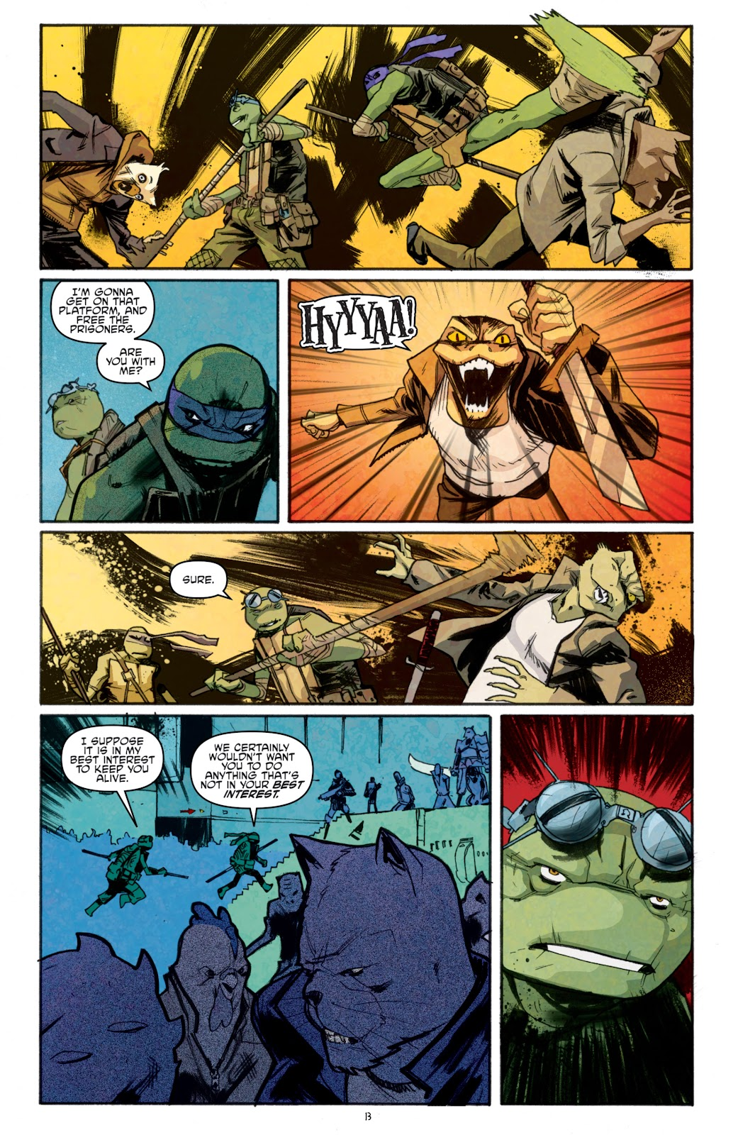 Read online Teenage Mutant Ninja Turtles: The IDW Collection comic -  Issue # TPB 5 (Part 1) - 88