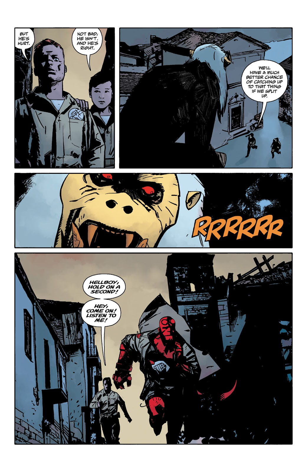 Read online Hellboy and the B.P.R.D. comic -  Issue # _TPB - 52