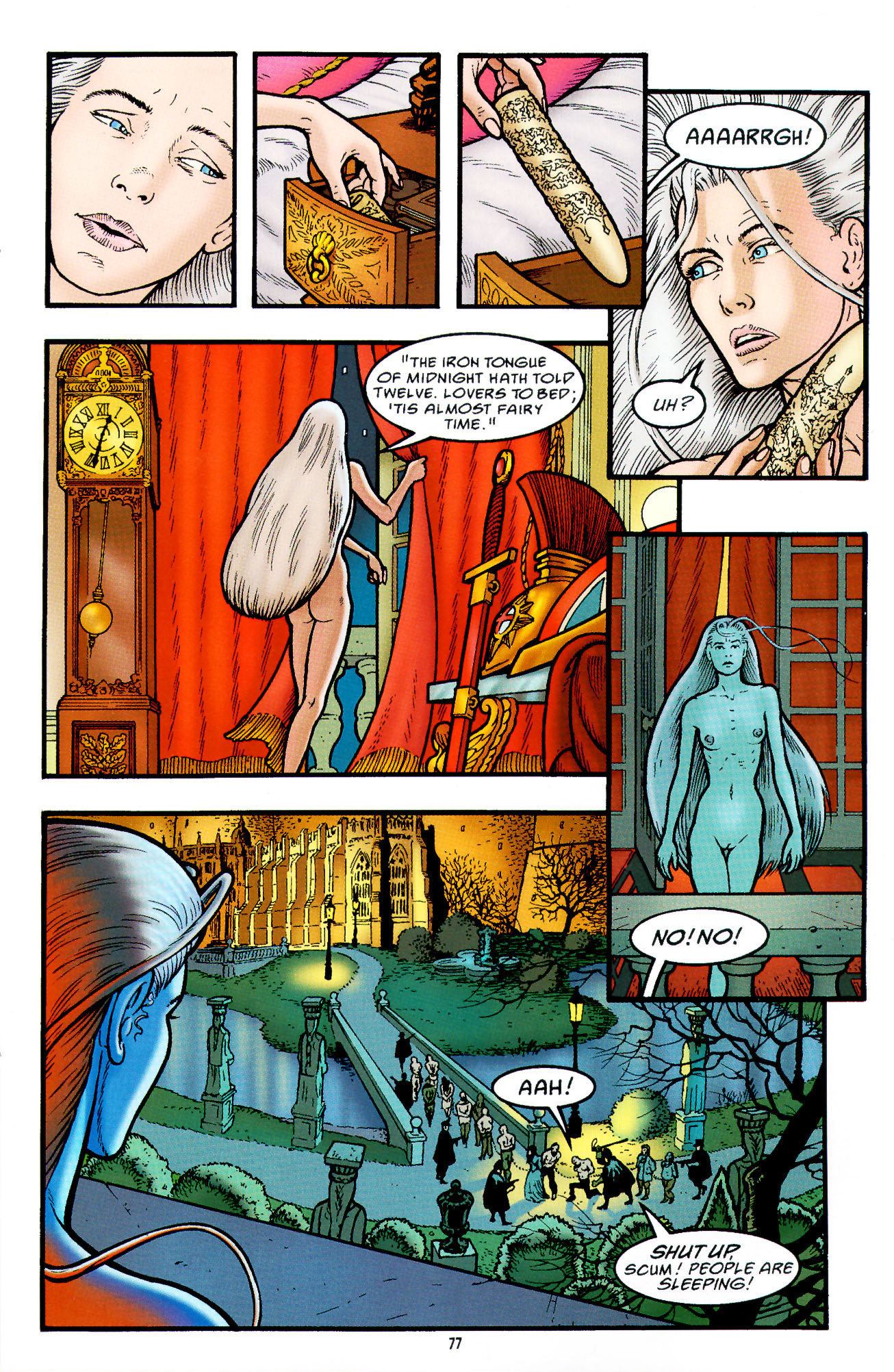 Read online Heart of Empire comic -  Issue #3 - 19