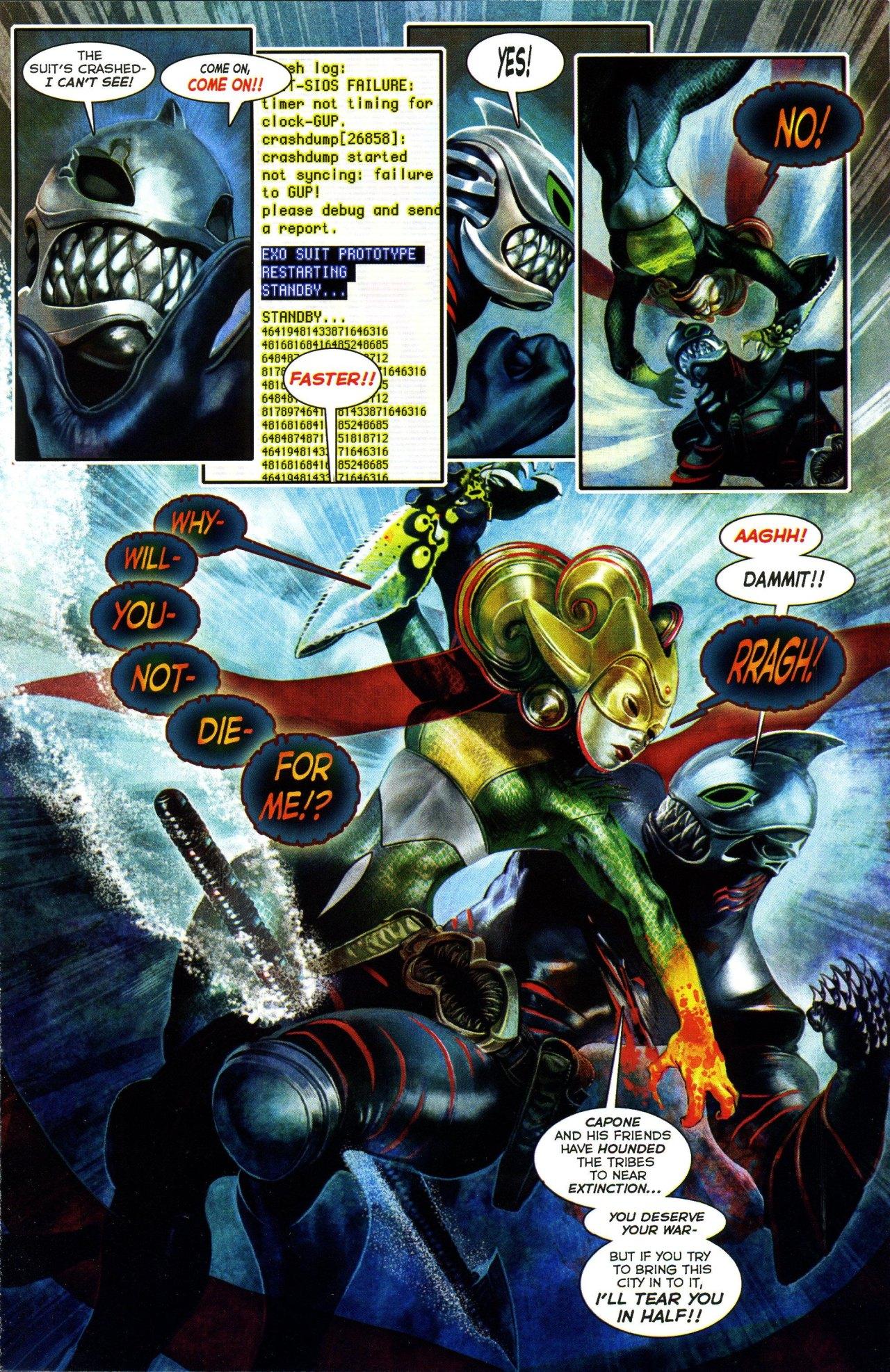Read online Shark-Man comic -  Issue #3 - 13