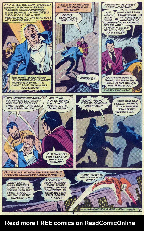 Read online Adventure Comics (1938) comic -  Issue #461 - 19