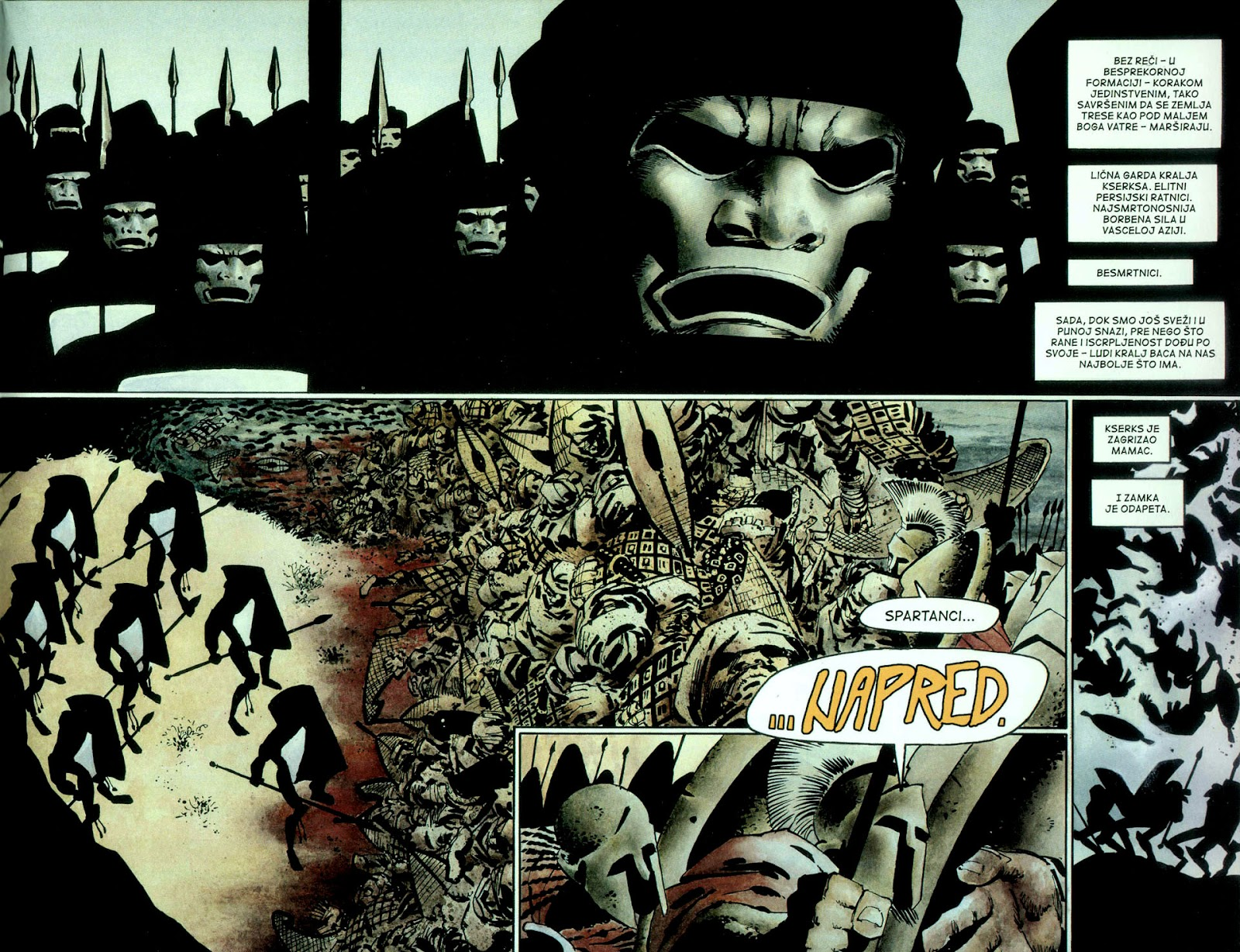 Read online 300 (2007) comic -  Issue # TPB - 58