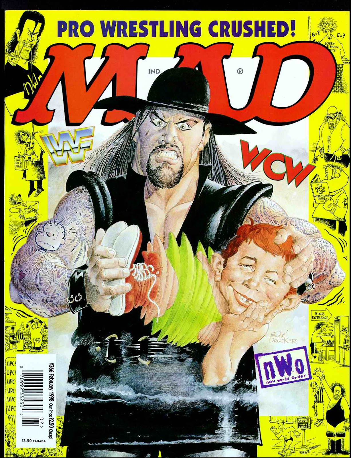 MAD issue 366 - Page 1