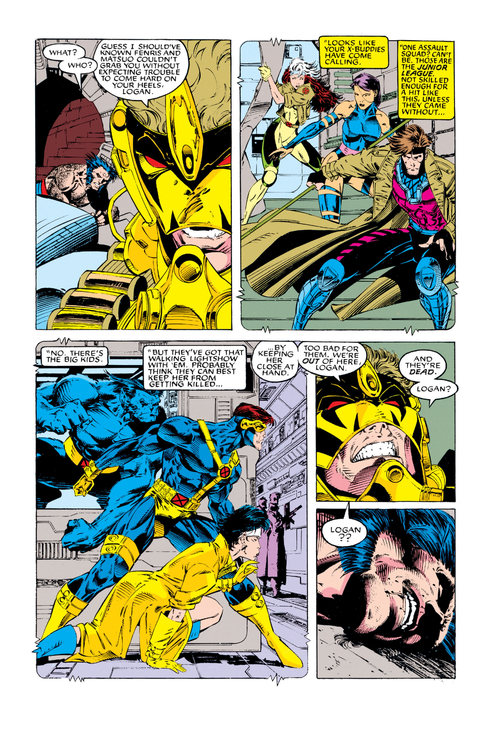 X-Men (1991) 5 Page 17
