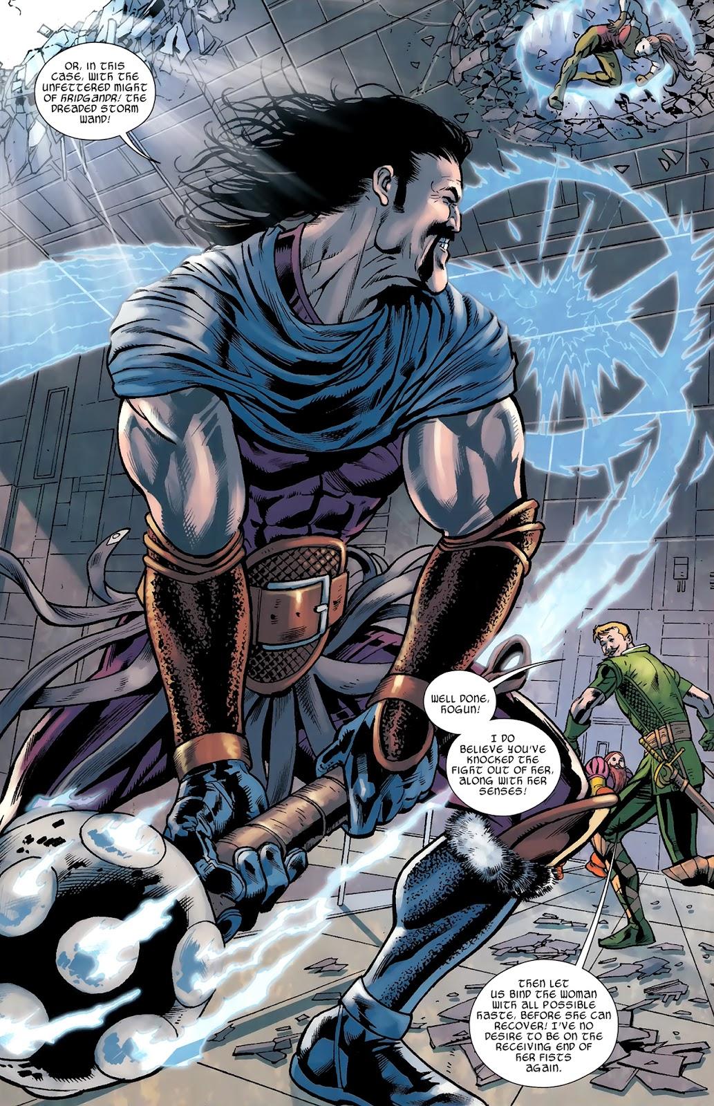 Warriors Three Issue #3 #3 - English 9