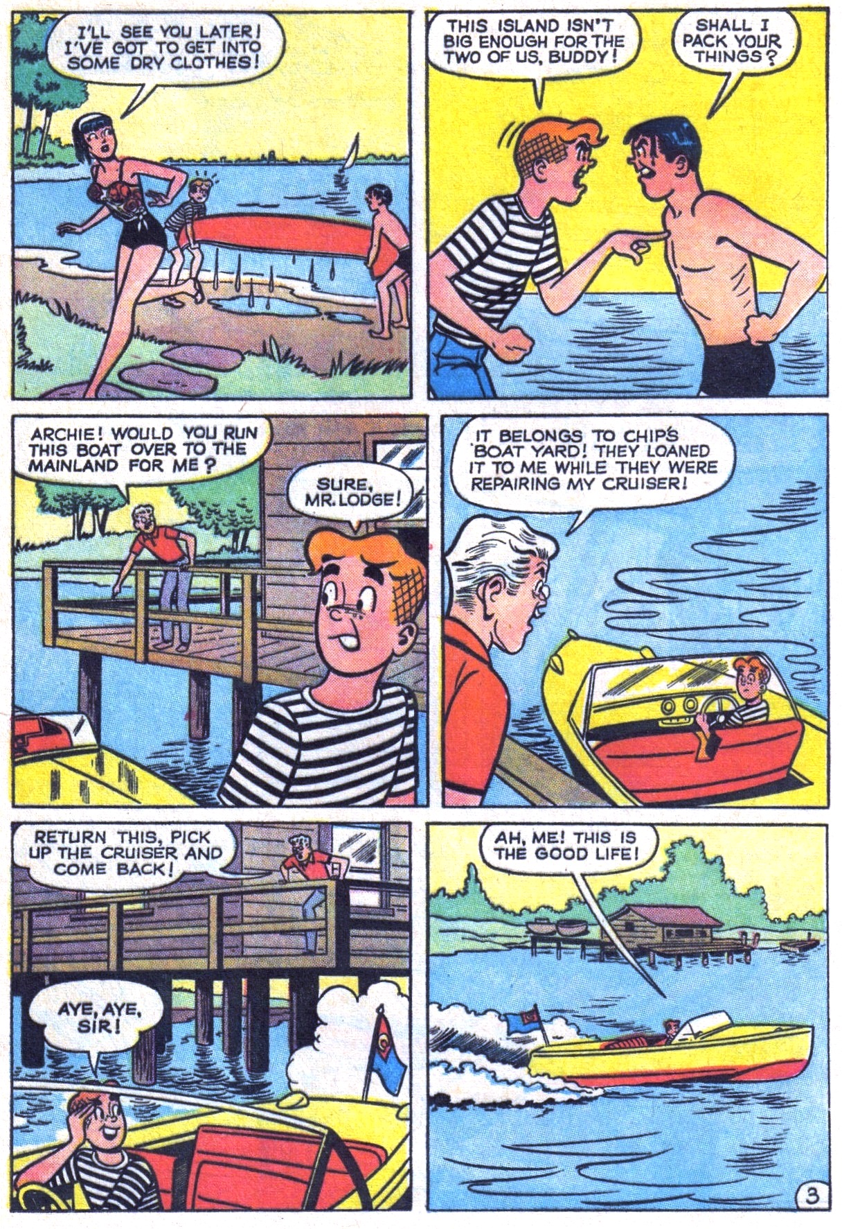Read online Archie (1960) comic -  Issue #150 - 5