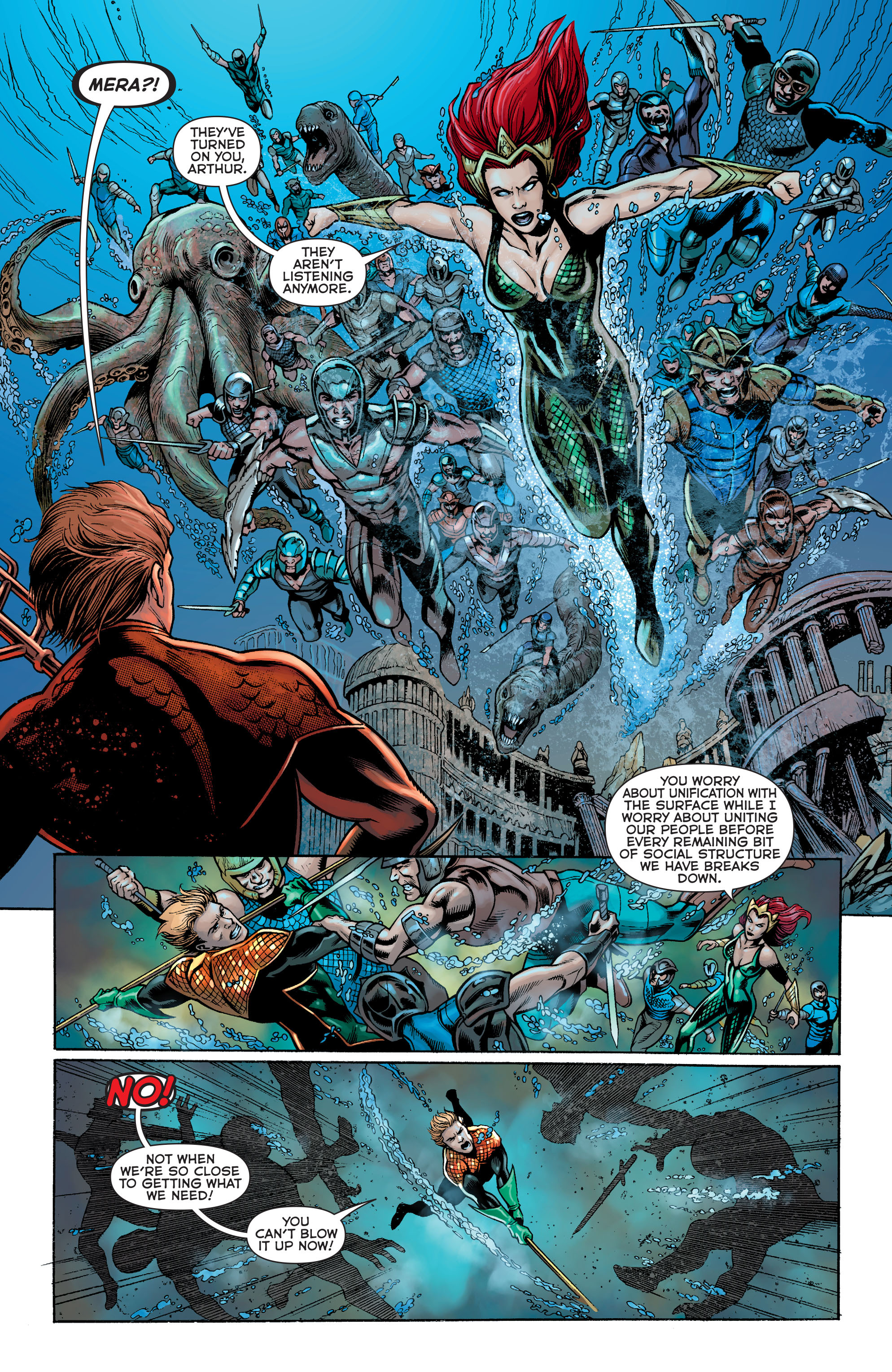 Read online Aquaman: Futures End comic -  Issue #Aquaman: Futures End Full - 16