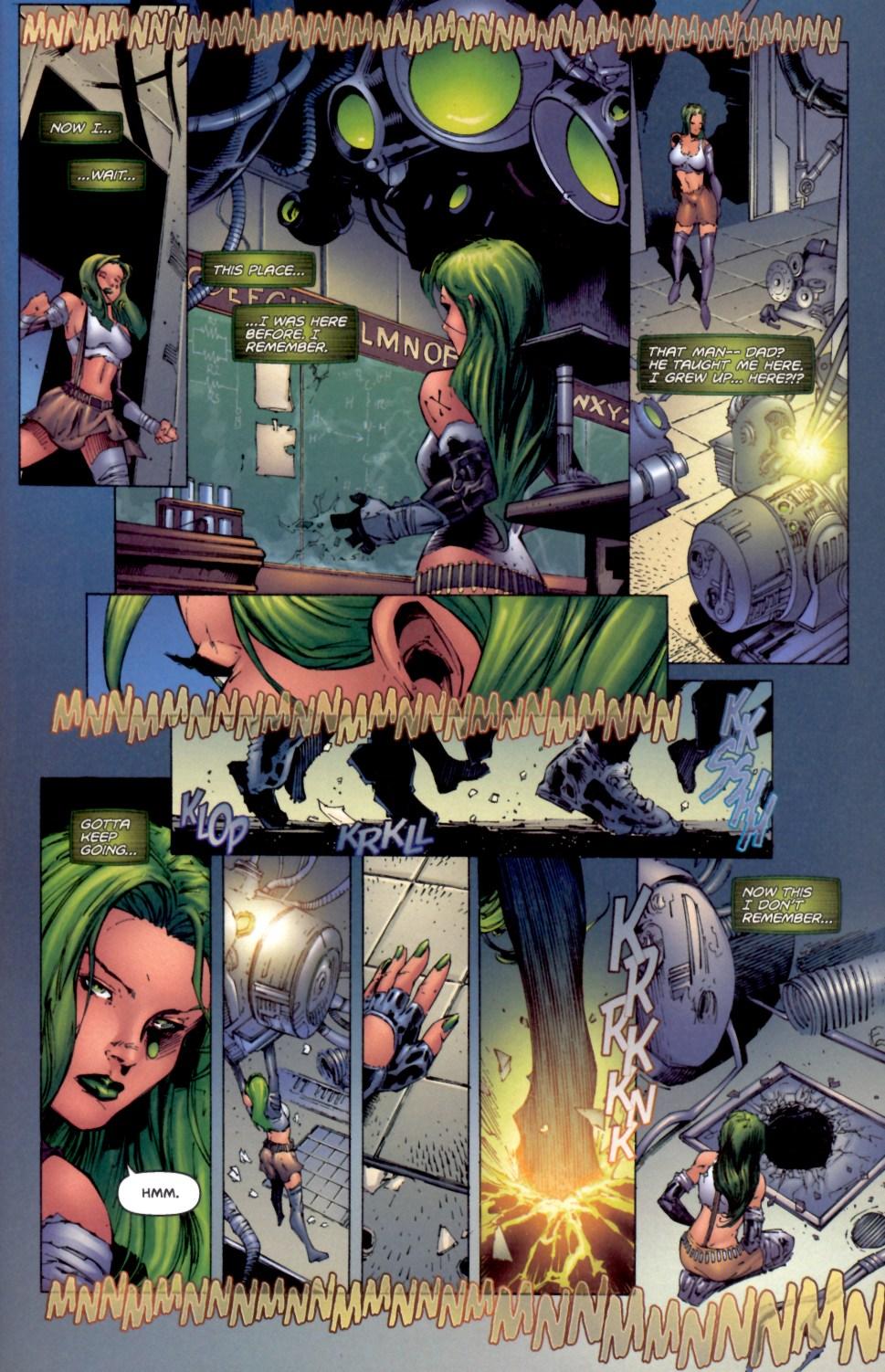 Read online Aphrodite IX (2000) comic -  Issue #4 - 9