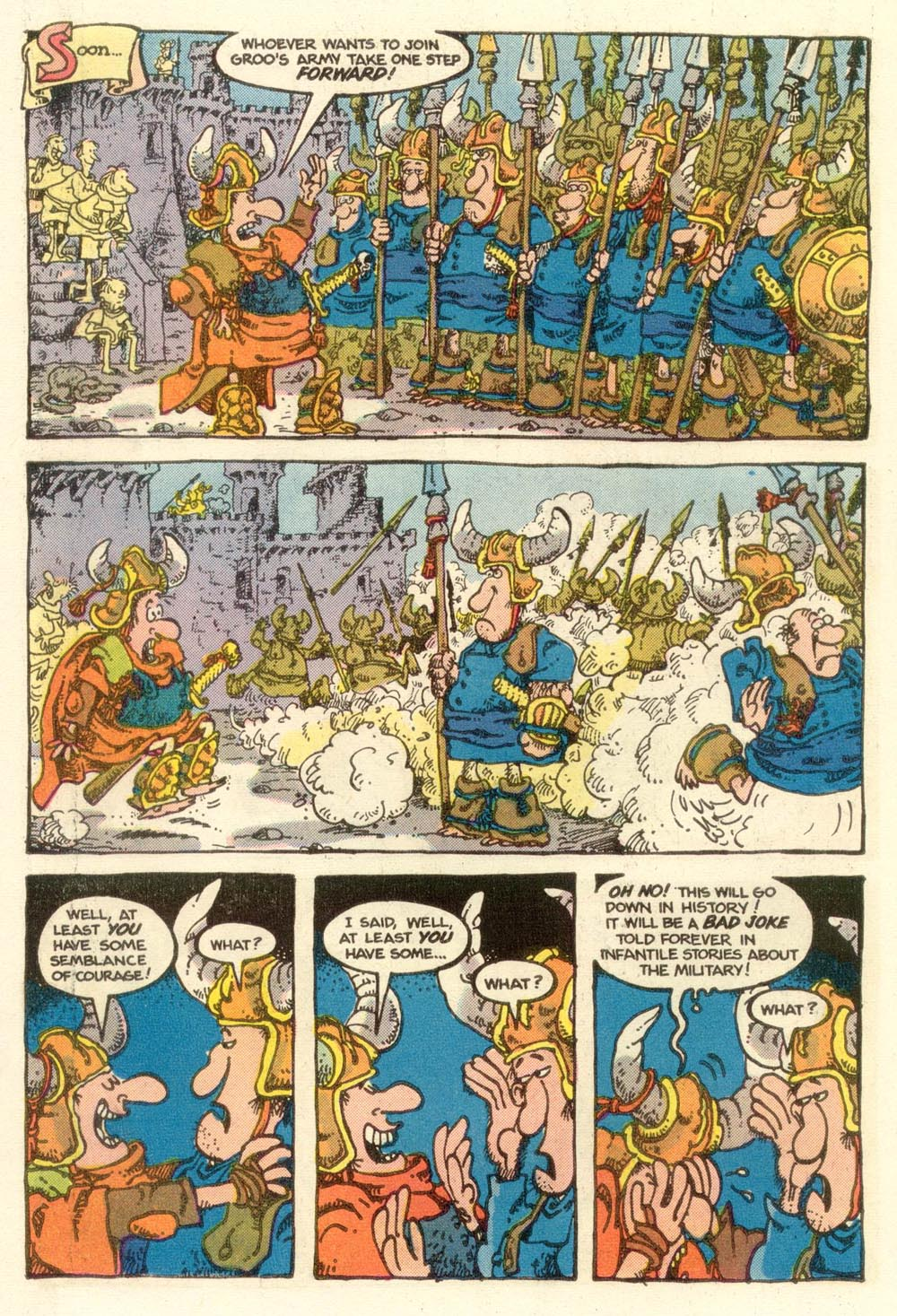 Read online Sergio Aragonés Groo the Wanderer comic -  Issue #13 - 13