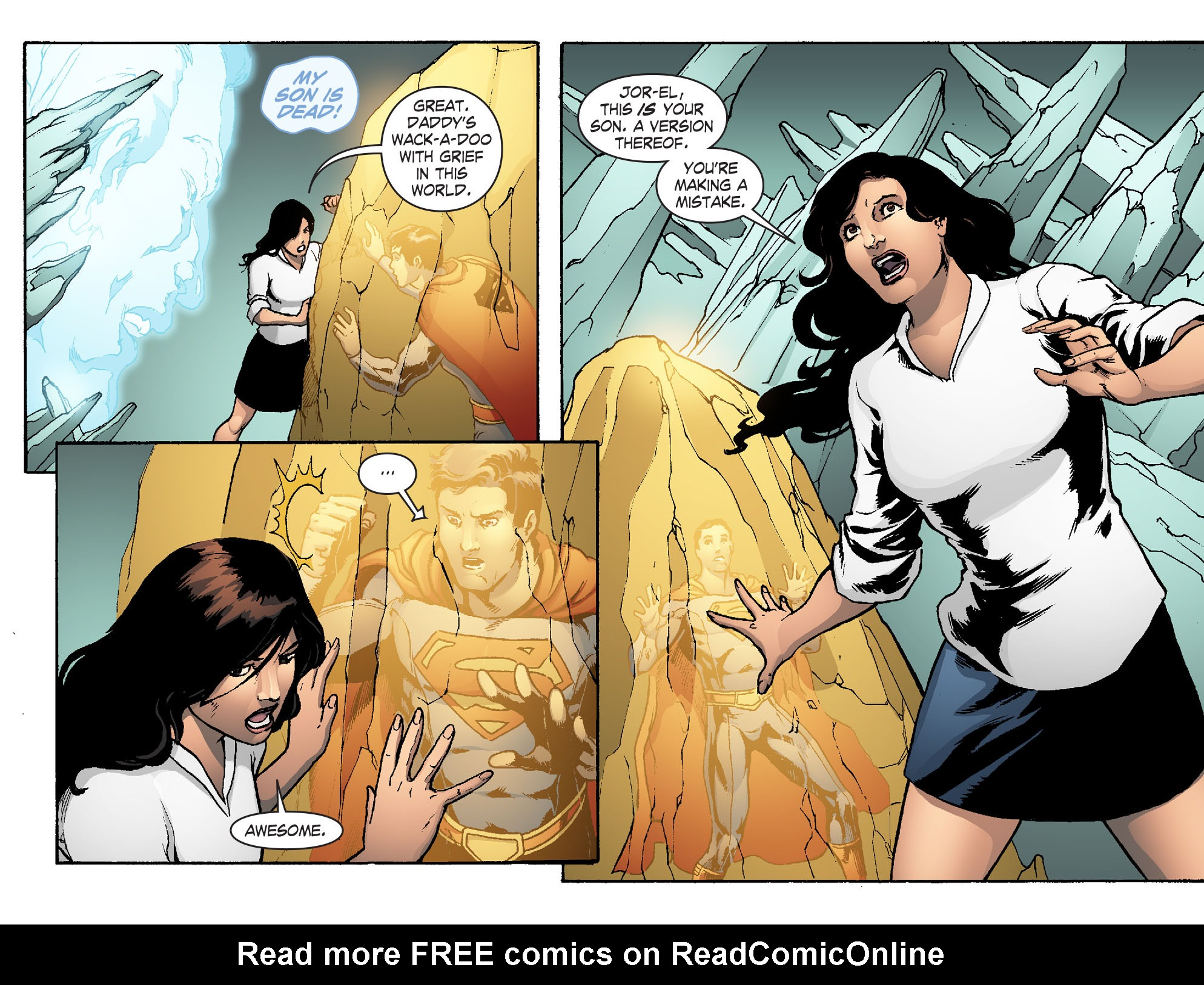 Read online Smallville: Chaos [II] comic -  Issue #5 - 21
