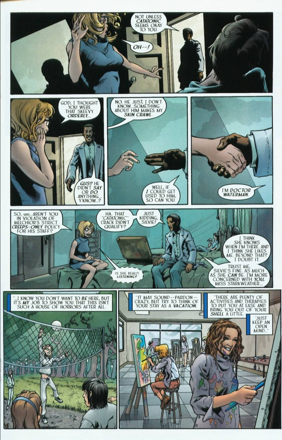 Read online Route 666 comic -  Issue #1 - 27
