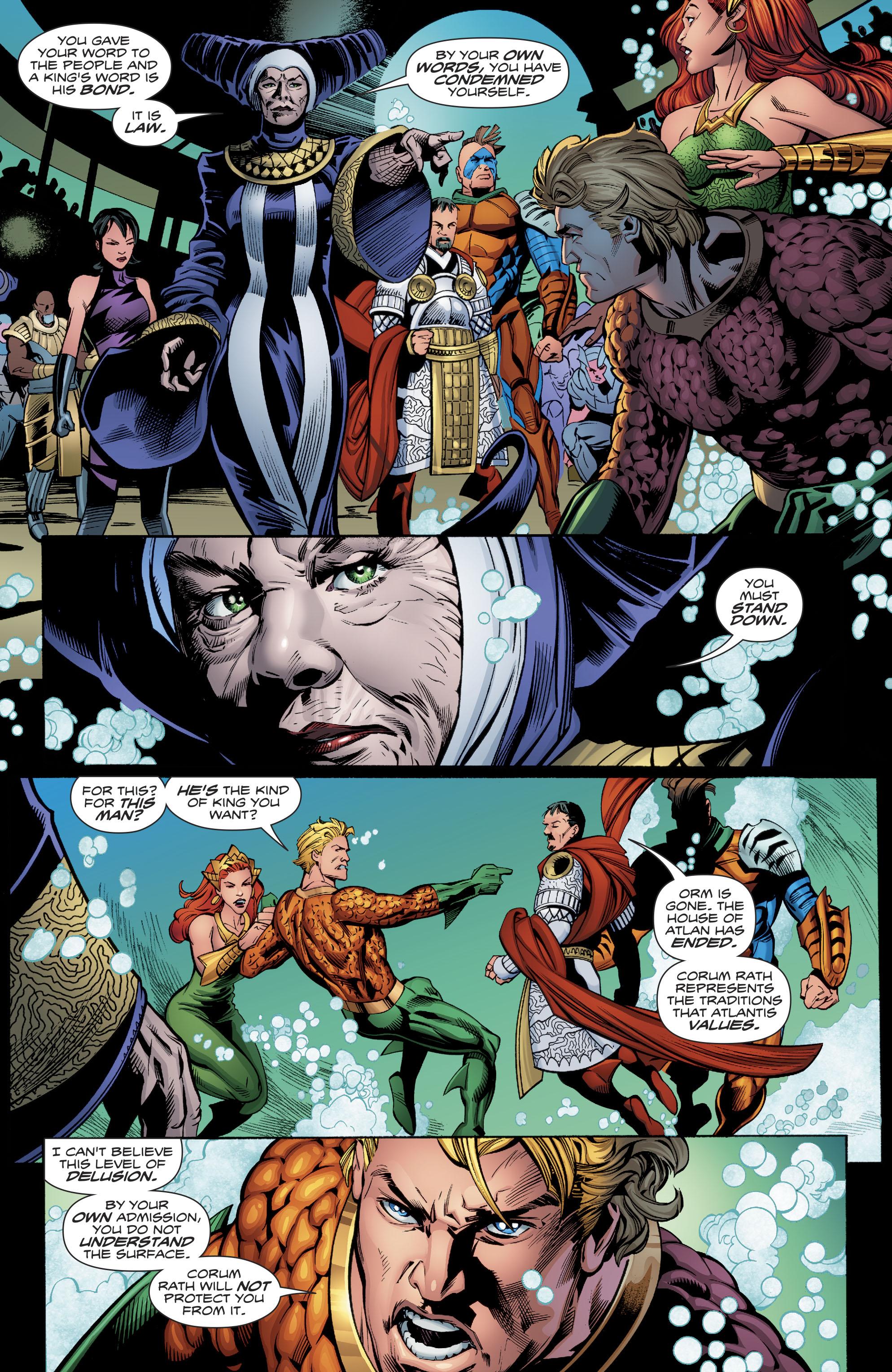 Read online Aquaman (2016) comic -  Issue #23 - 20