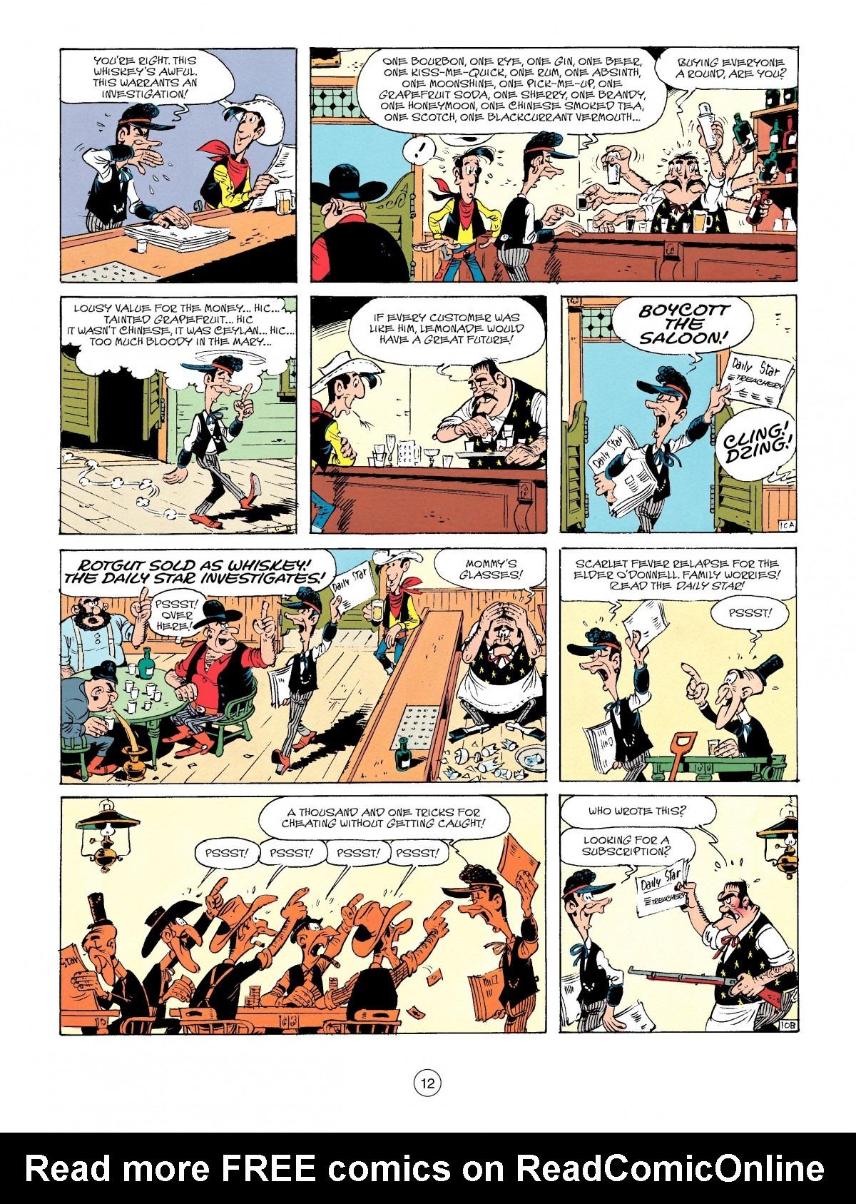 Read online A Lucky Luke Adventure comic -  Issue #41 - 12