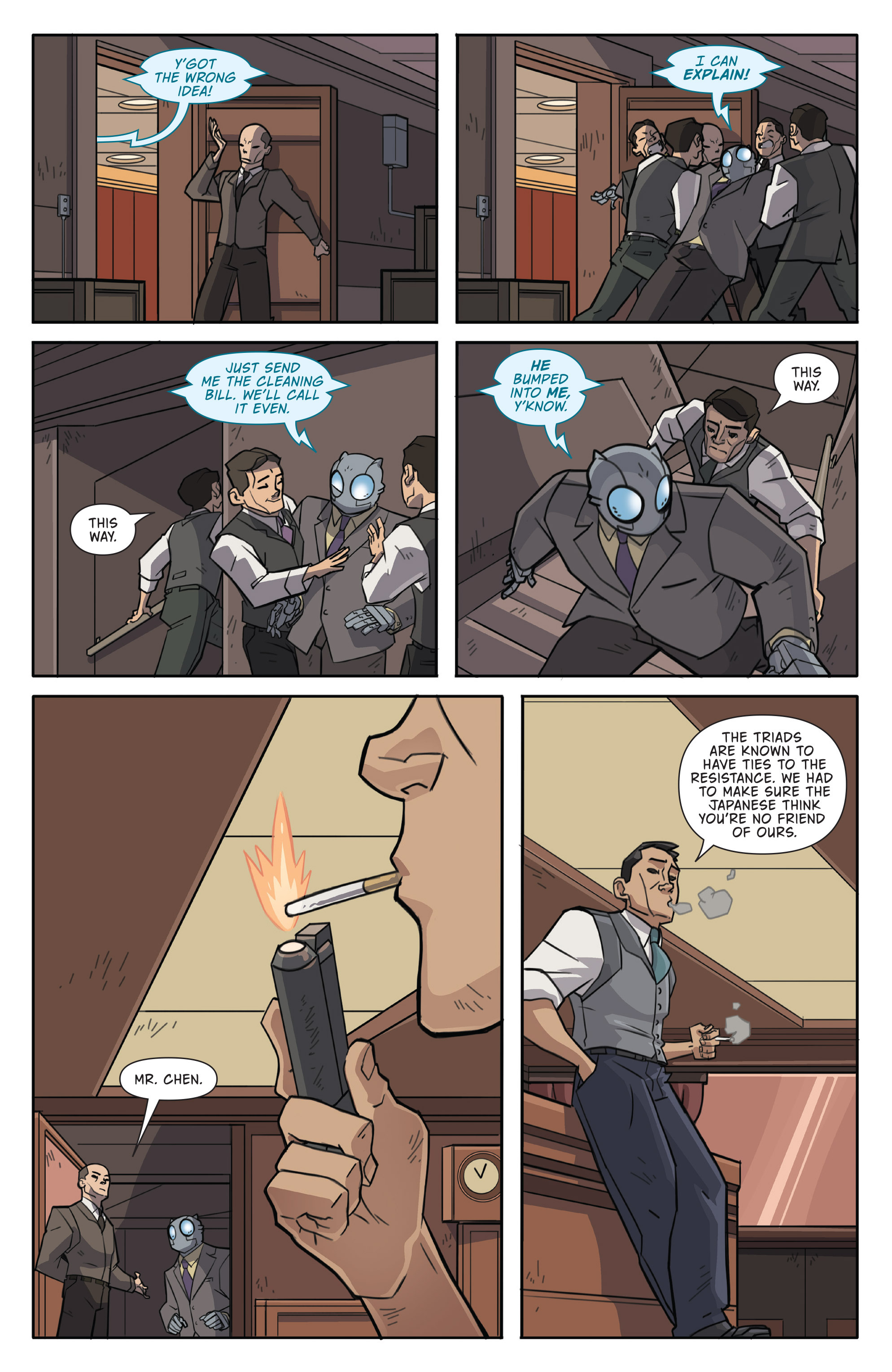 Read online Atomic Robo and the Temple of Od comic -  Issue #1 - 14