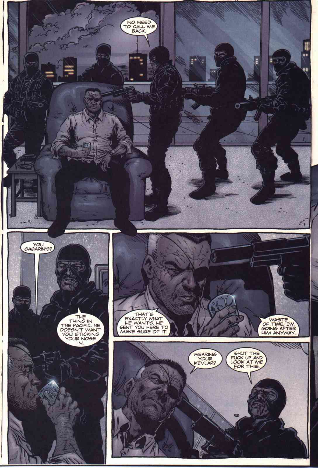 Read online Fury comic -  Issue #2 - 19