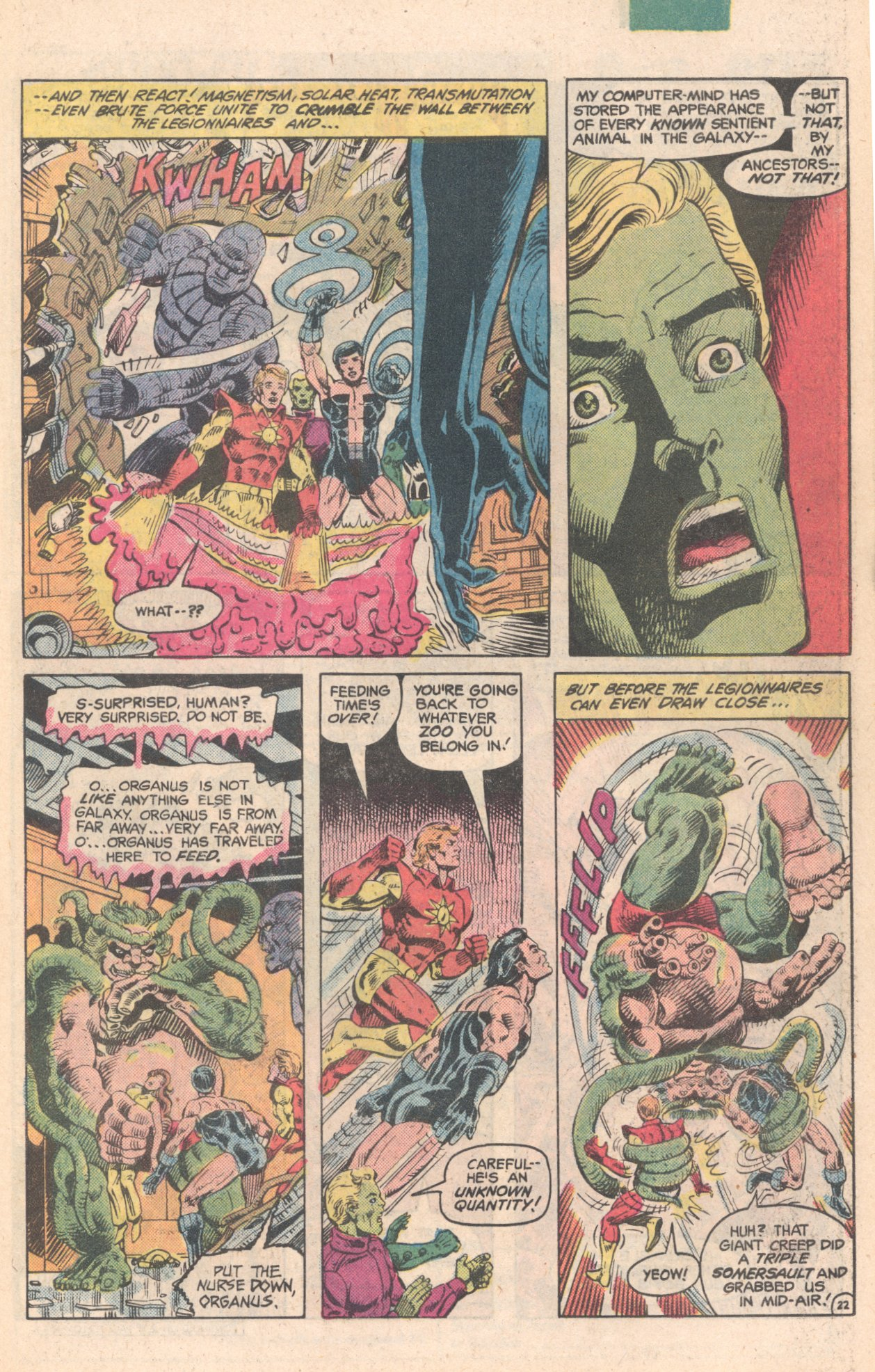 Legion of Super-Heroes (1980) 284 Page 22