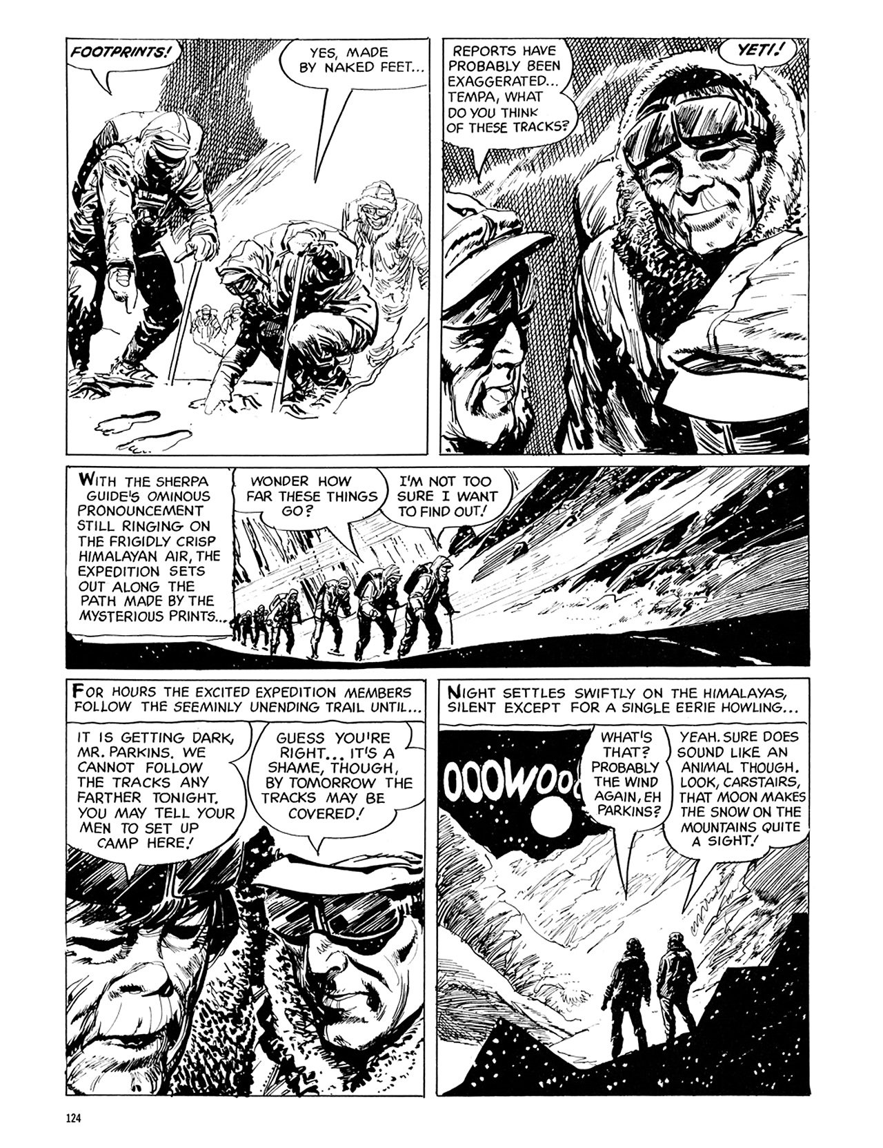 Read online Eerie Archives comic -  Issue # TPB 6 - 124