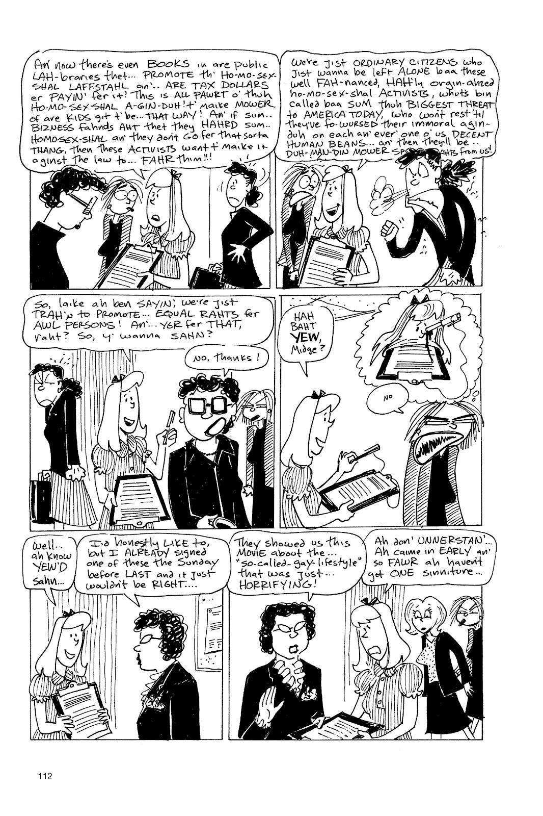 Read online Life's a Bitch: The Complete Bitchy Bitch Stories comic -  Issue # TPB (Part 2) - 10